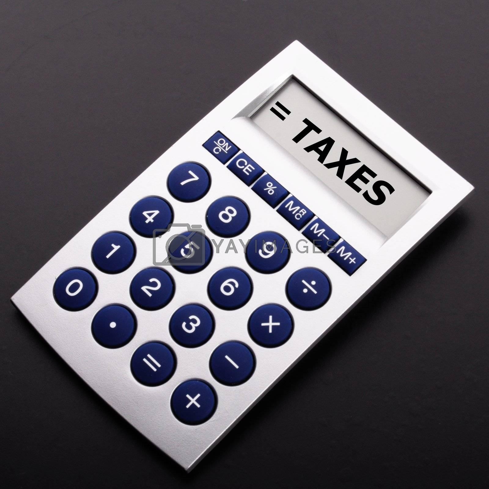 Royalty free image of tax by gunnar3000