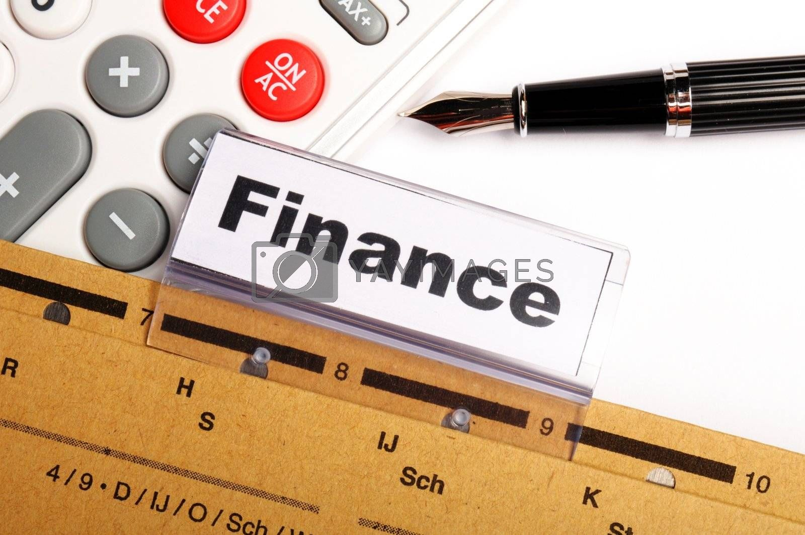 Royalty free image of finance by gunnar3000