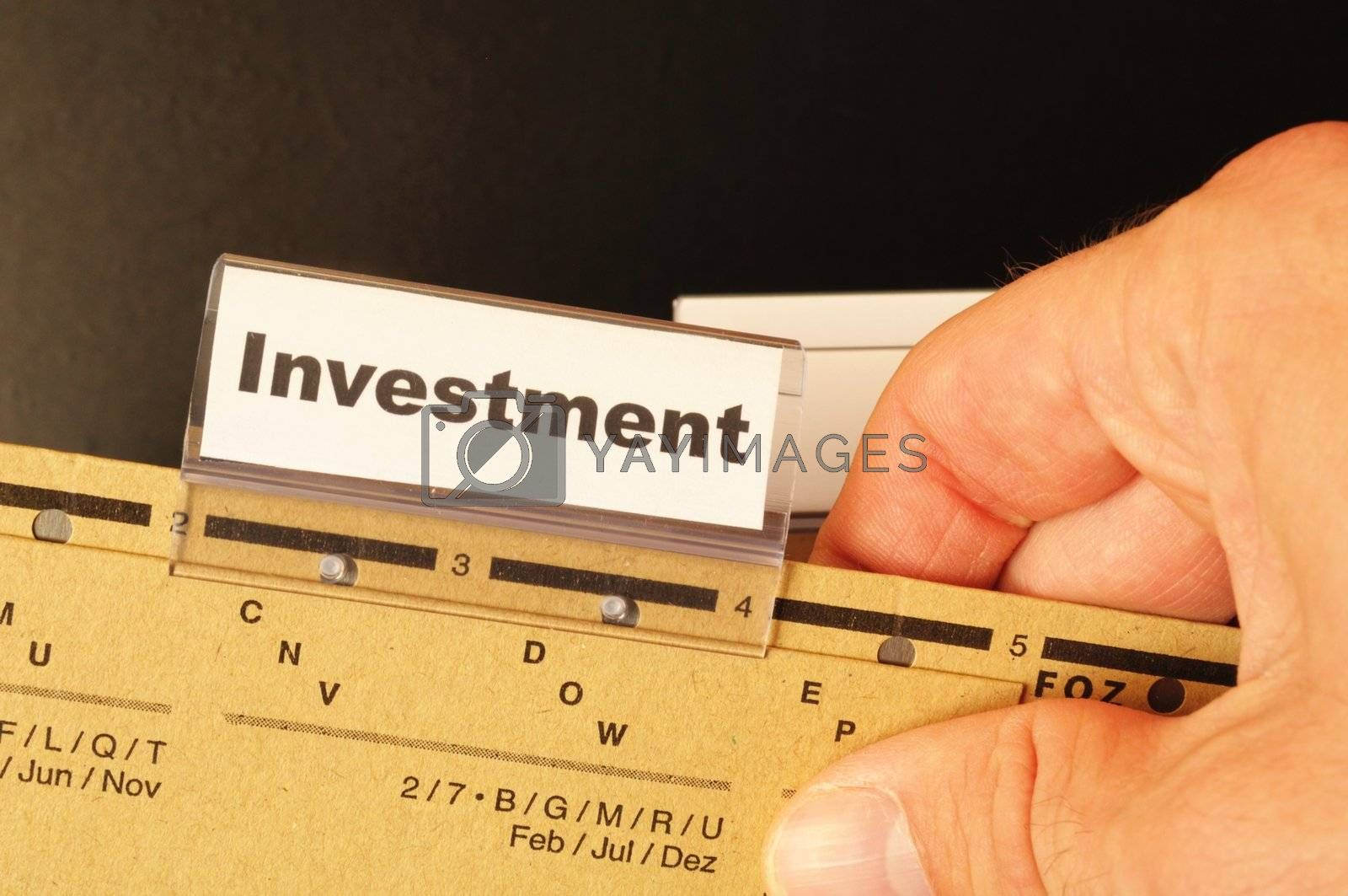 Royalty free image of investment by gunnar3000