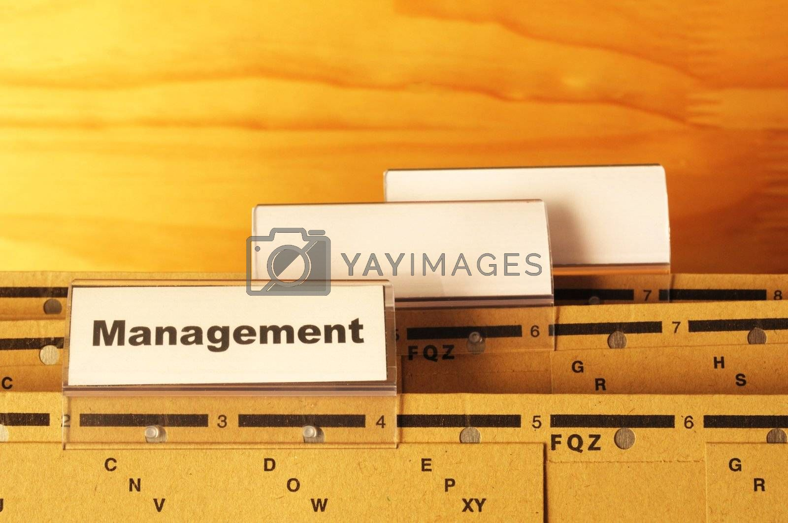 Royalty free image of management by gunnar3000