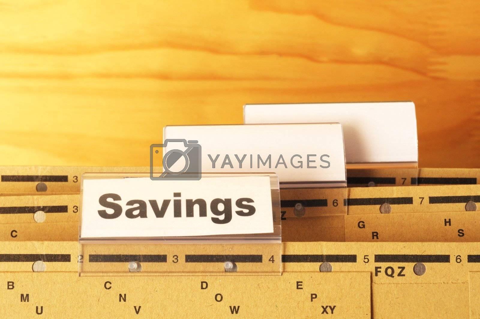 Royalty free image of savings by gunnar3000