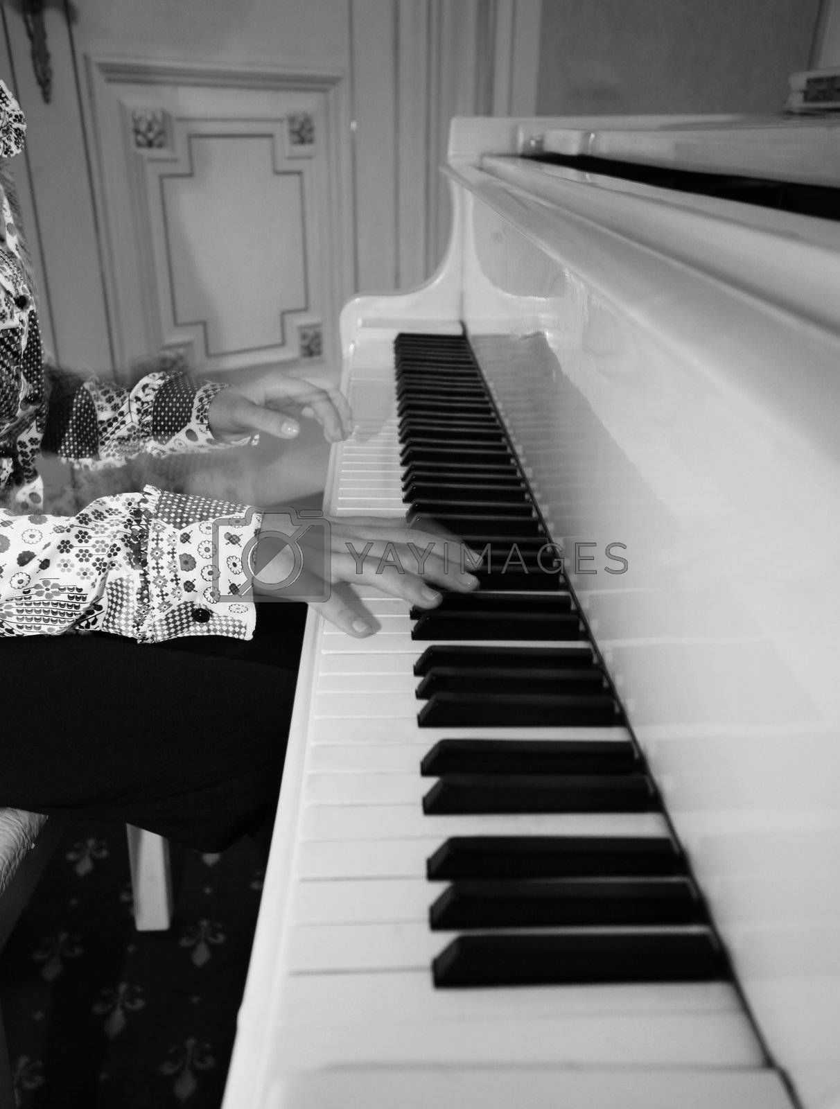 Grand piano by friday
