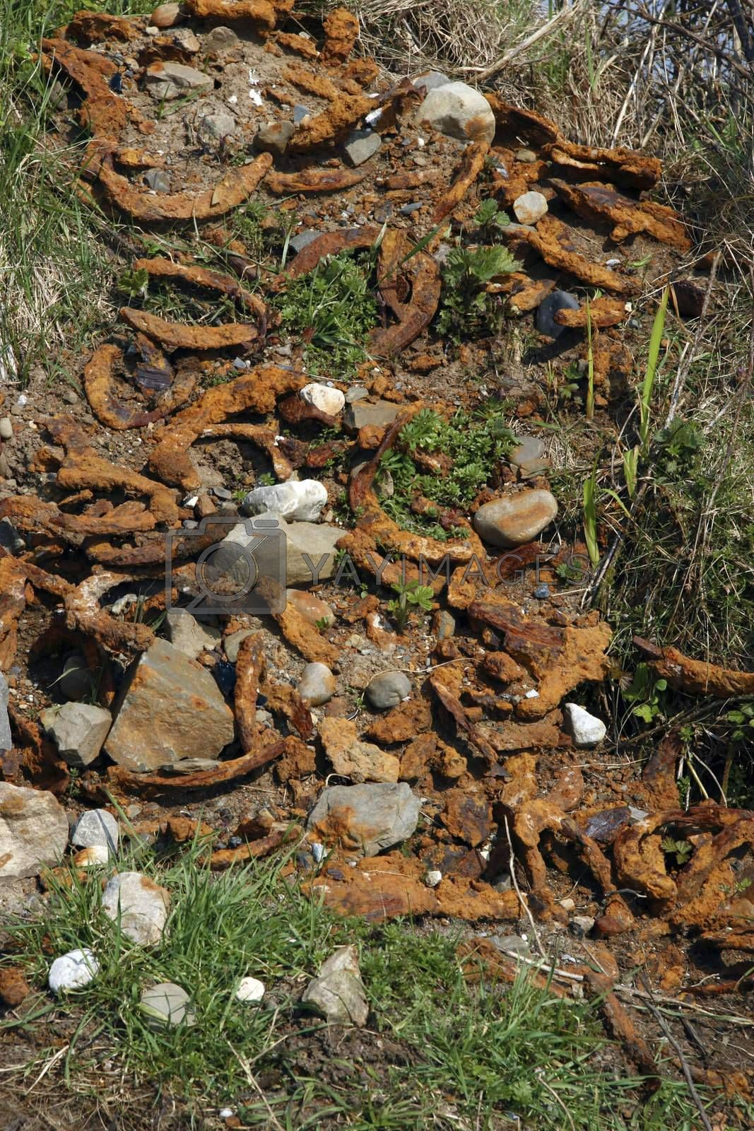 horse shoe waste by morrbyte