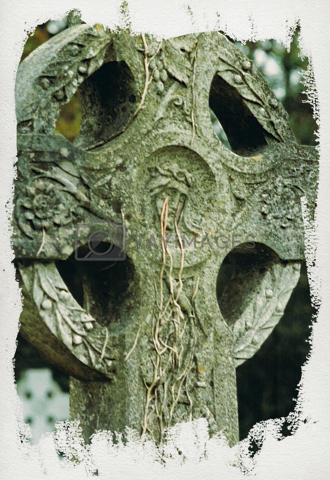 celtic cross ii by morrbyte