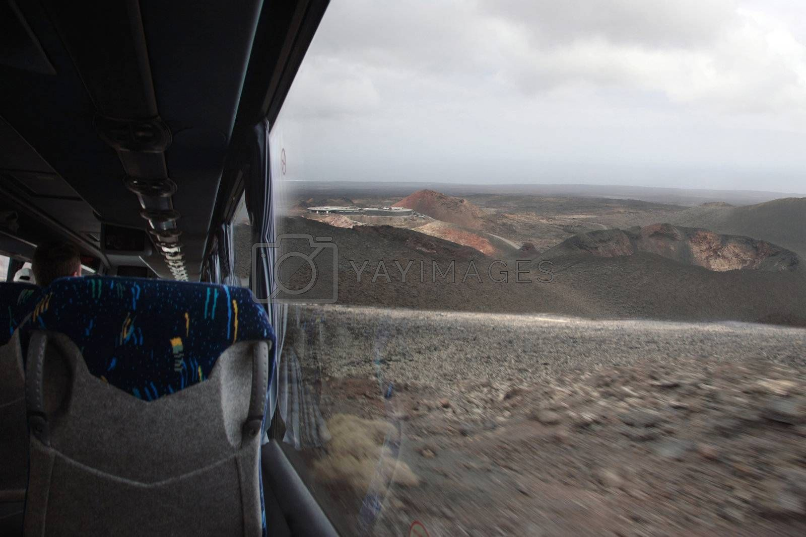 volcanic bus tour by morrbyte