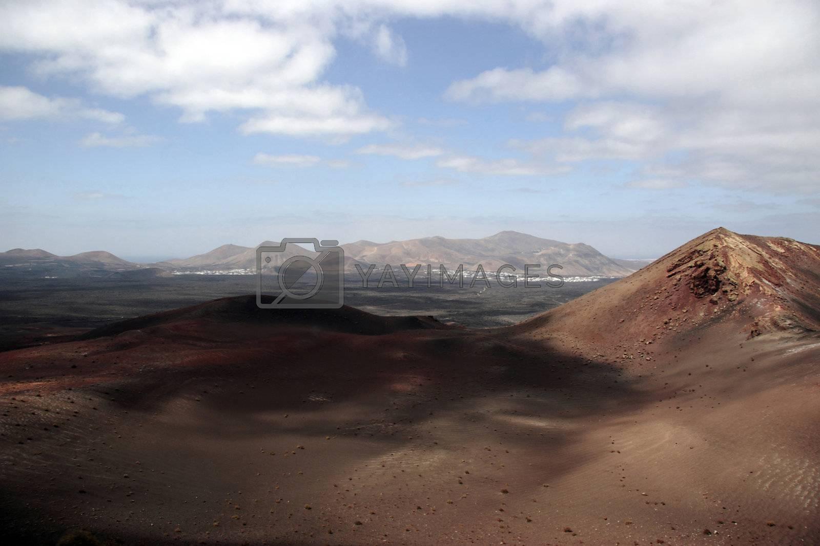hot landscape iv by morrbyte