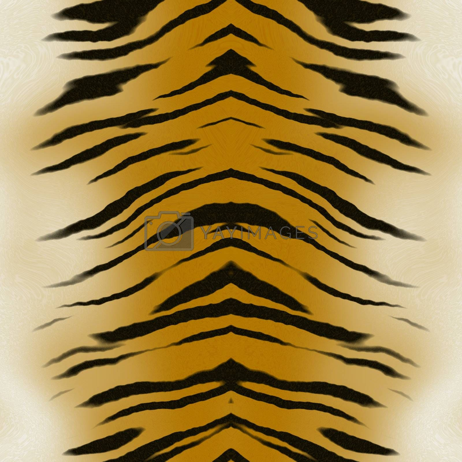 tiger skin by graficallyminded