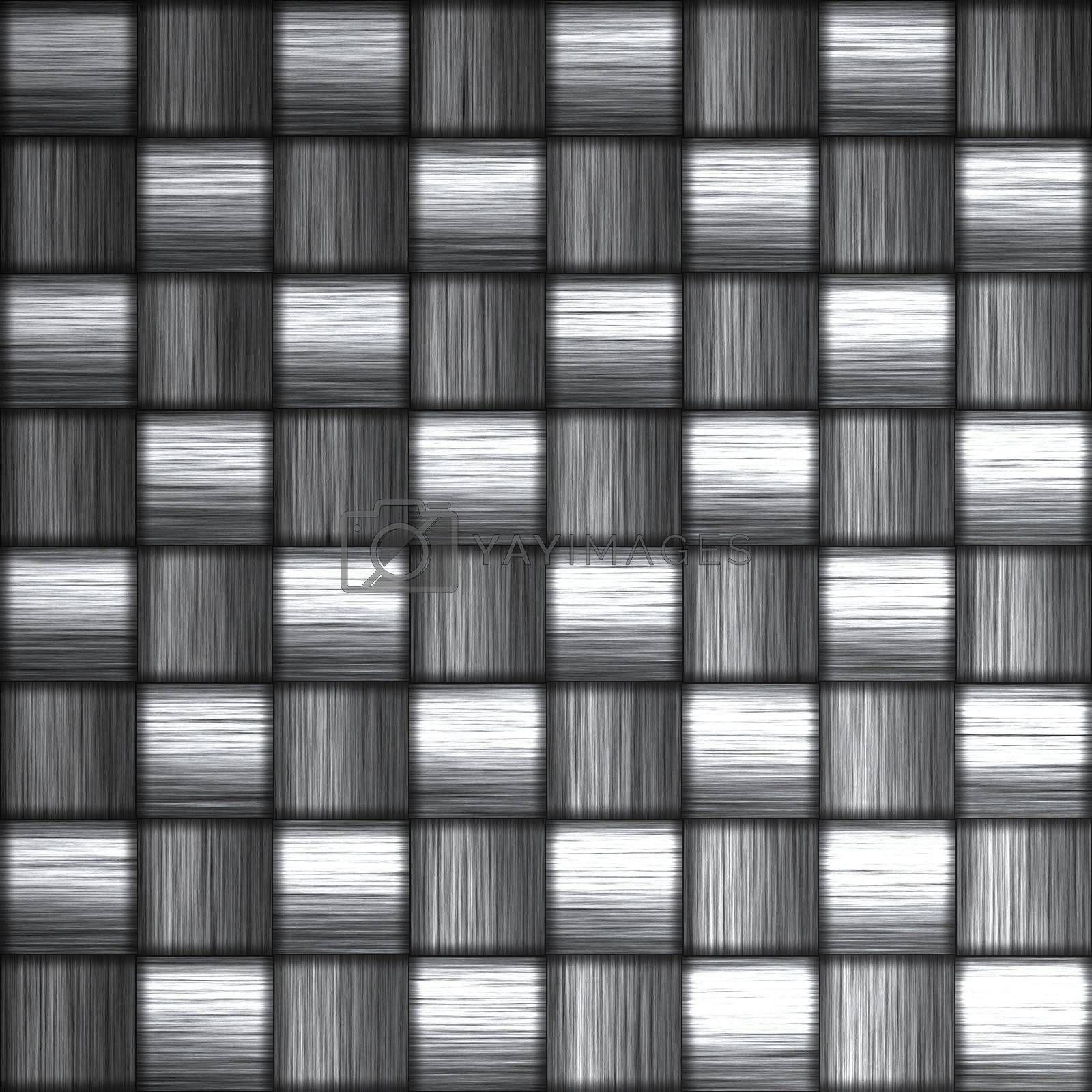 """A tightly woven carbon fiber background texture - a great and highly-usable art element for that """"high-tech"""" look you are going for in your print or web design piece"""
