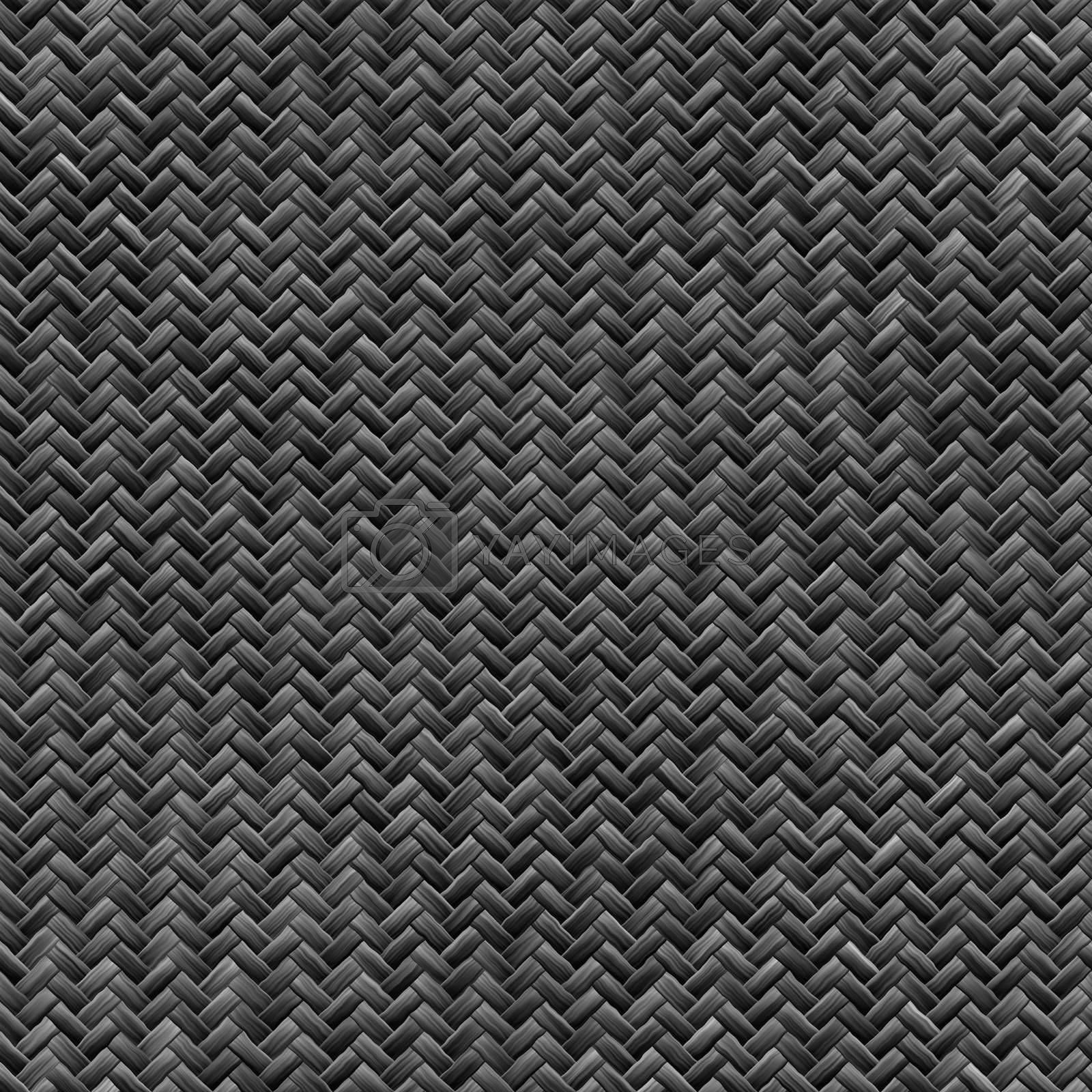 """A tightly woven carbon fiber background texture - a great and highly-usable art element for that """"high-tech"""" look you are going for in your print or web design piece."""