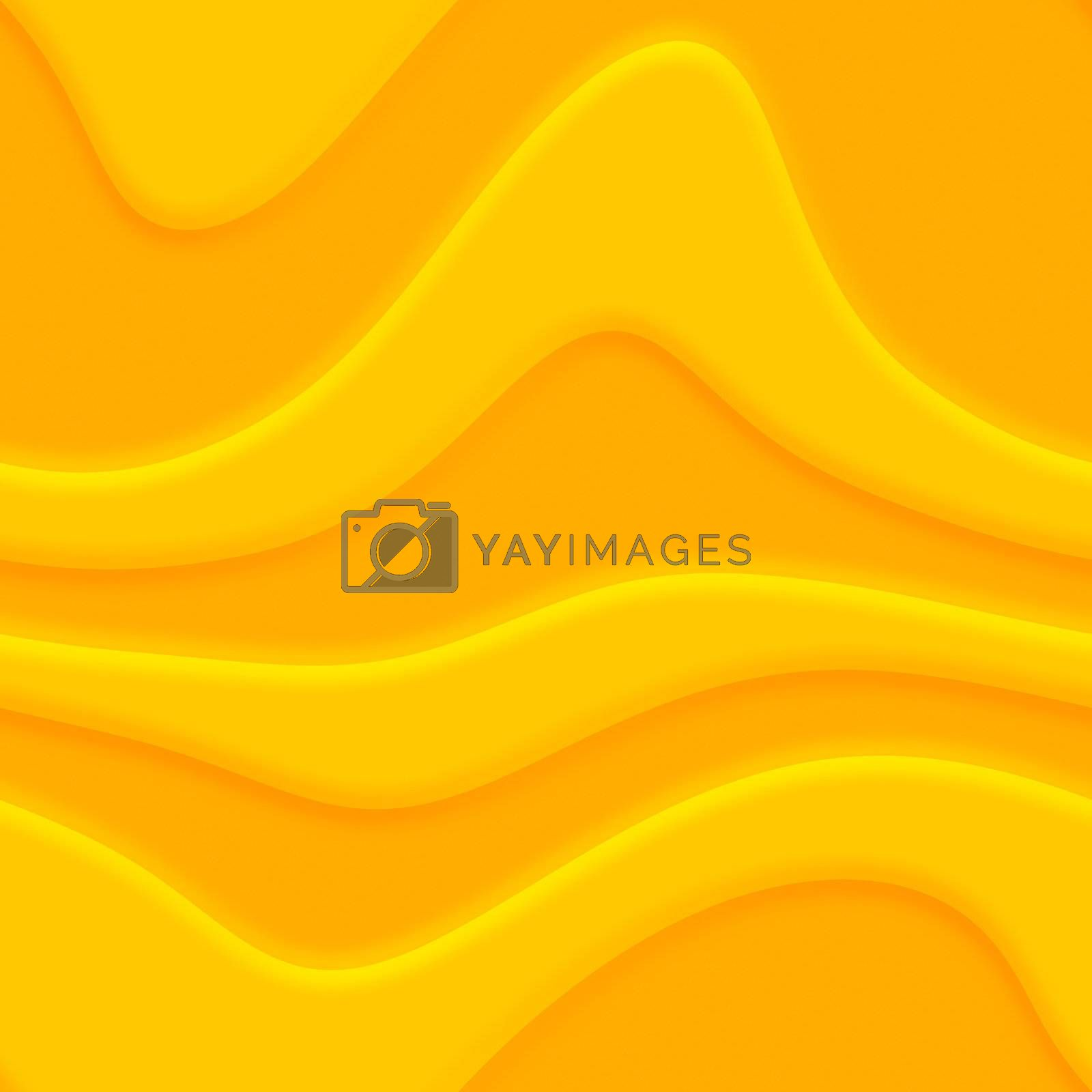 A yellow / orange abstract background illustration.