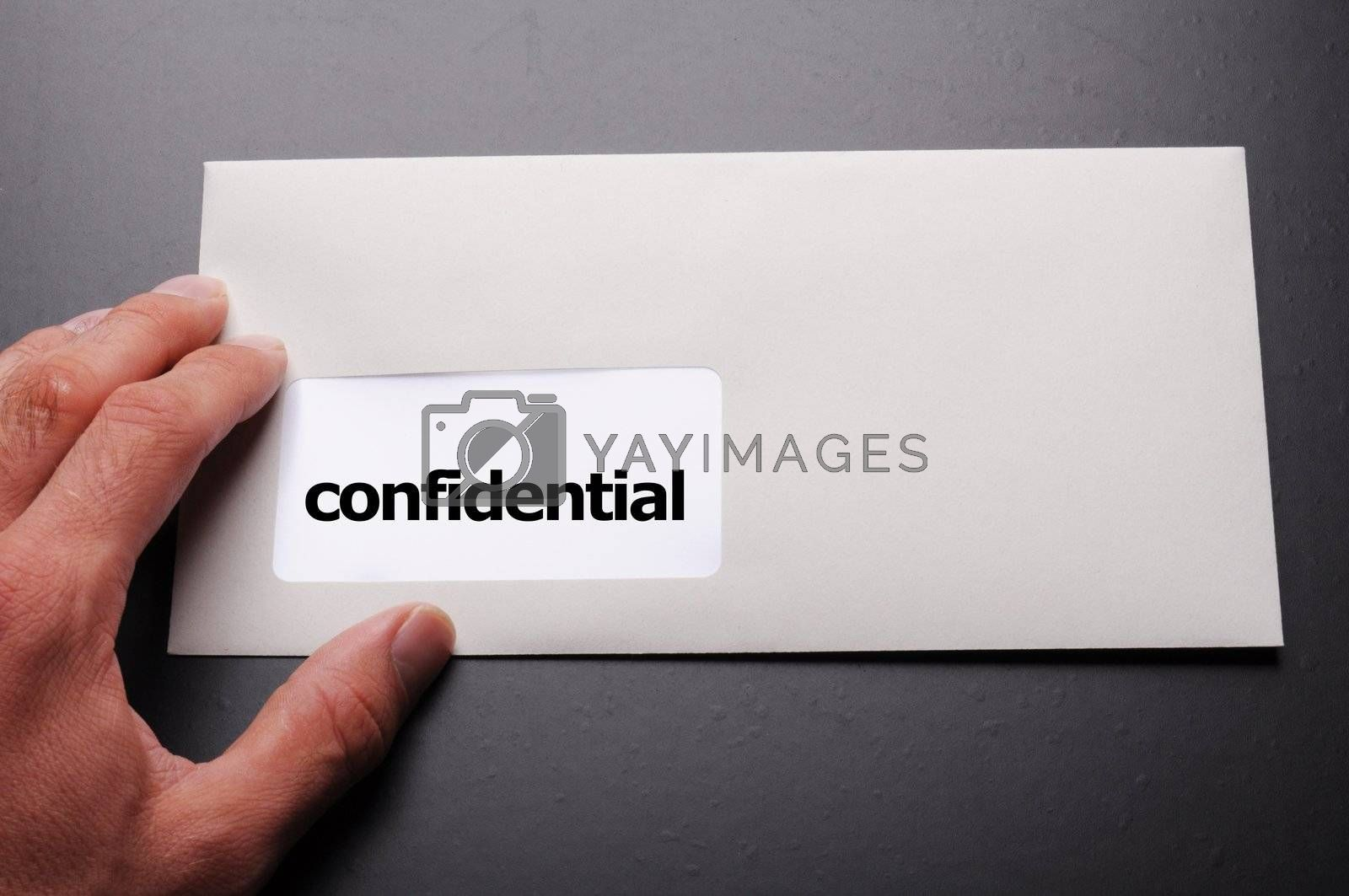 Royalty free image of confidential by gunnar3000