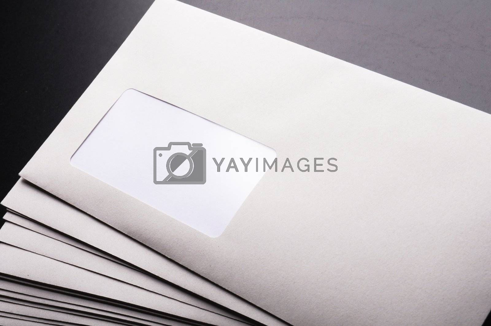 Royalty free image of envelope and copyspace by gunnar3000