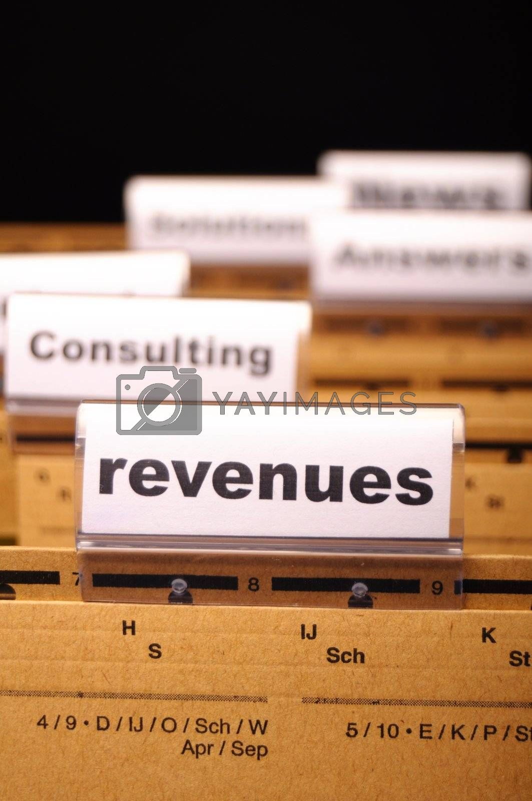 Royalty free image of revenue by gunnar3000