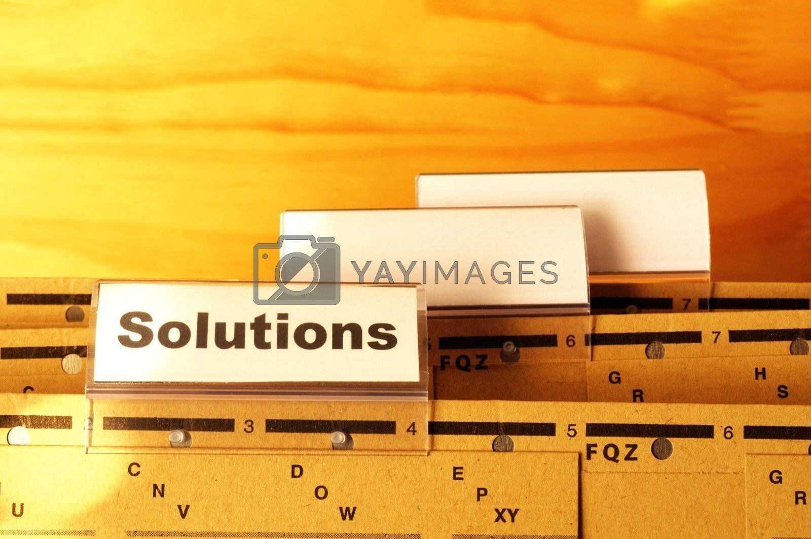 Royalty free image of solution by gunnar3000