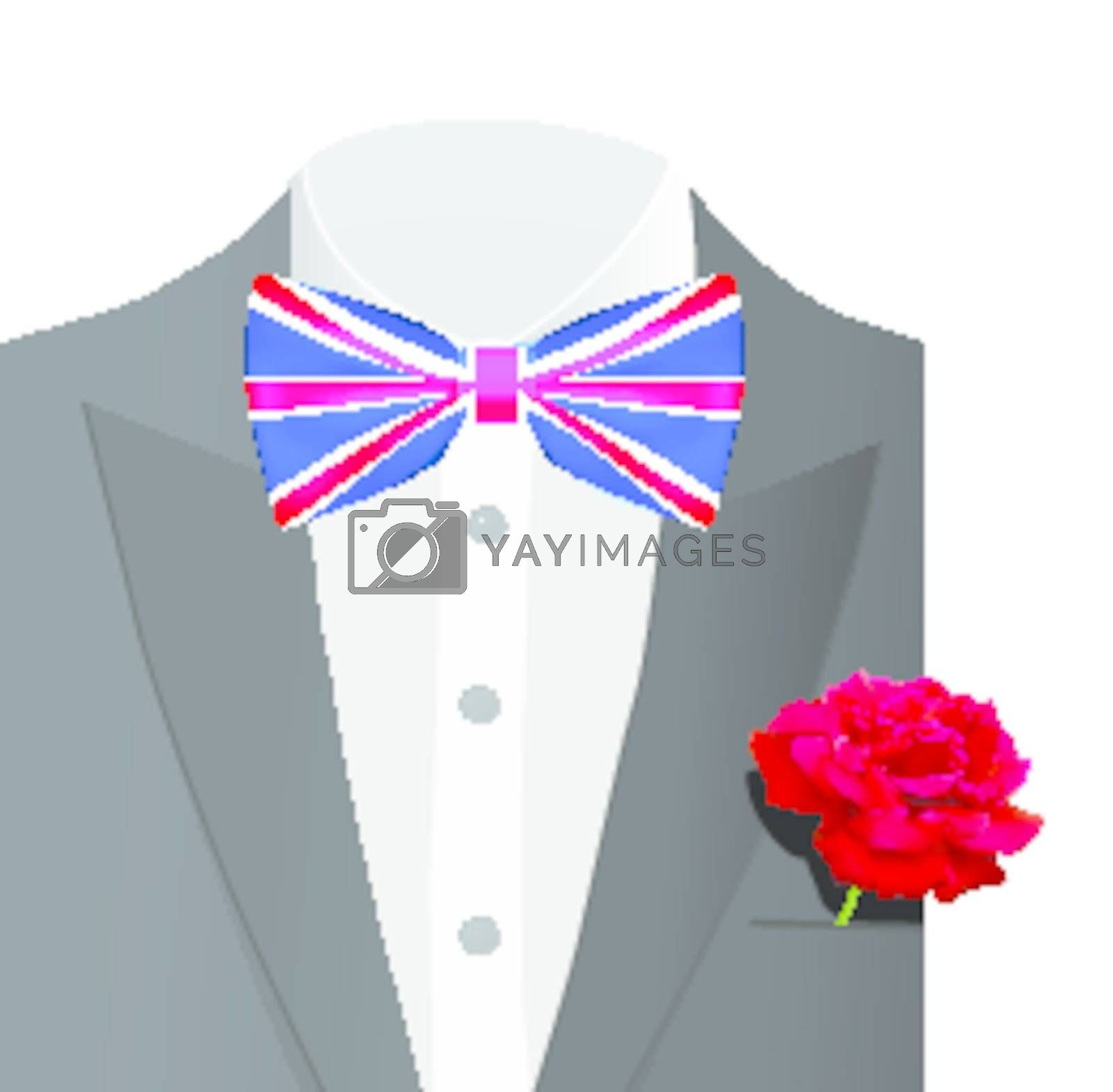 Royal wedding of Prince William and Kate Middleton. Vector illustration