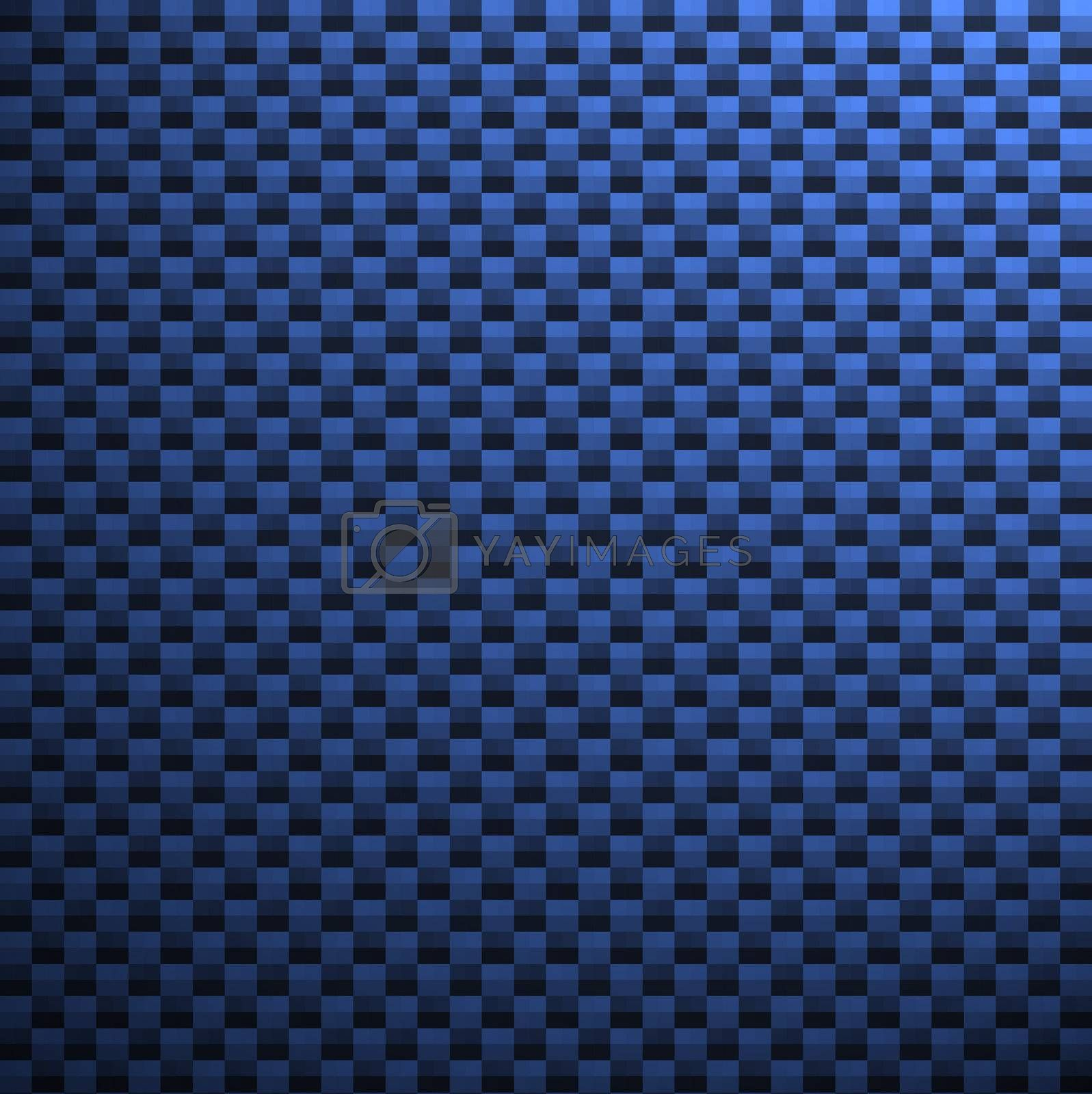 A high-res, blue carbon fiber pattern / texture that you can apply in both print and web design.