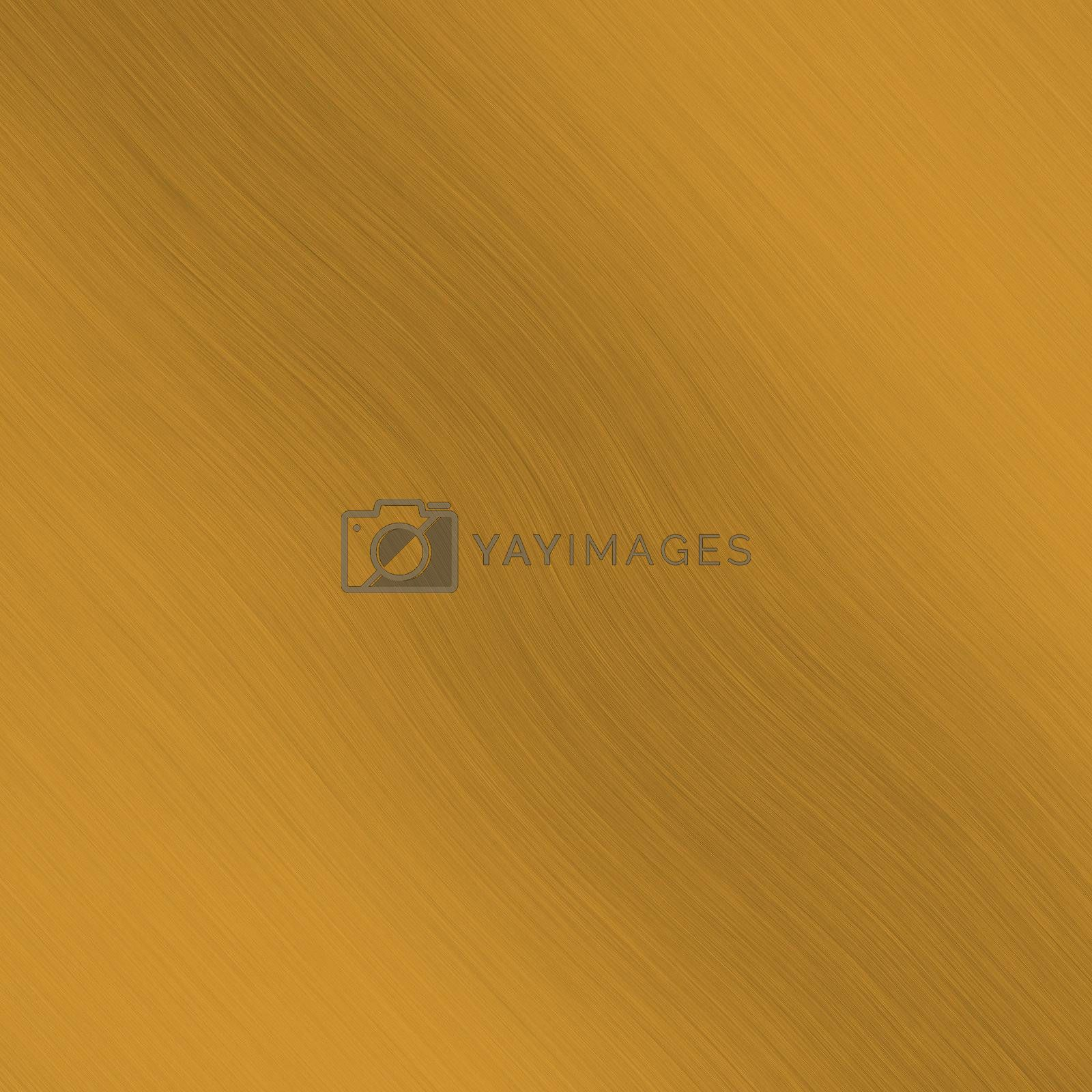 Golden brushed metal - also looks like copper or bronze, you can even slightly color tweak it for any desired tone.