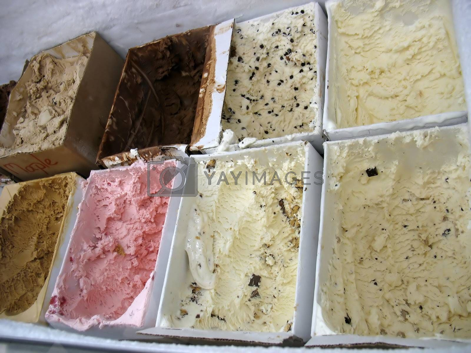ICE CREAM - So many flavors - how do you pick just one?