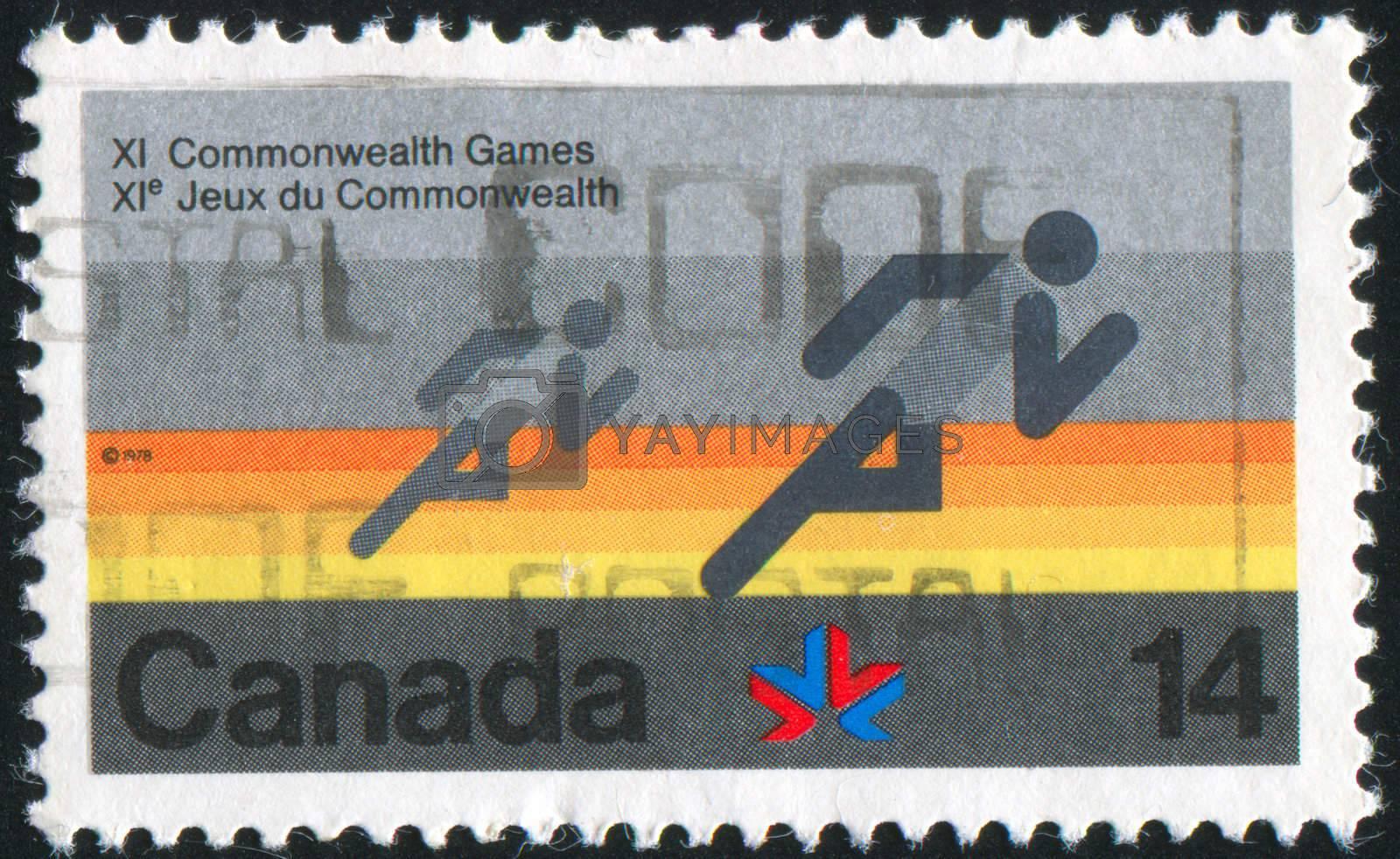 CANADA - CIRCA 1978: stamp printed by Canada, shows goose, circa 1978