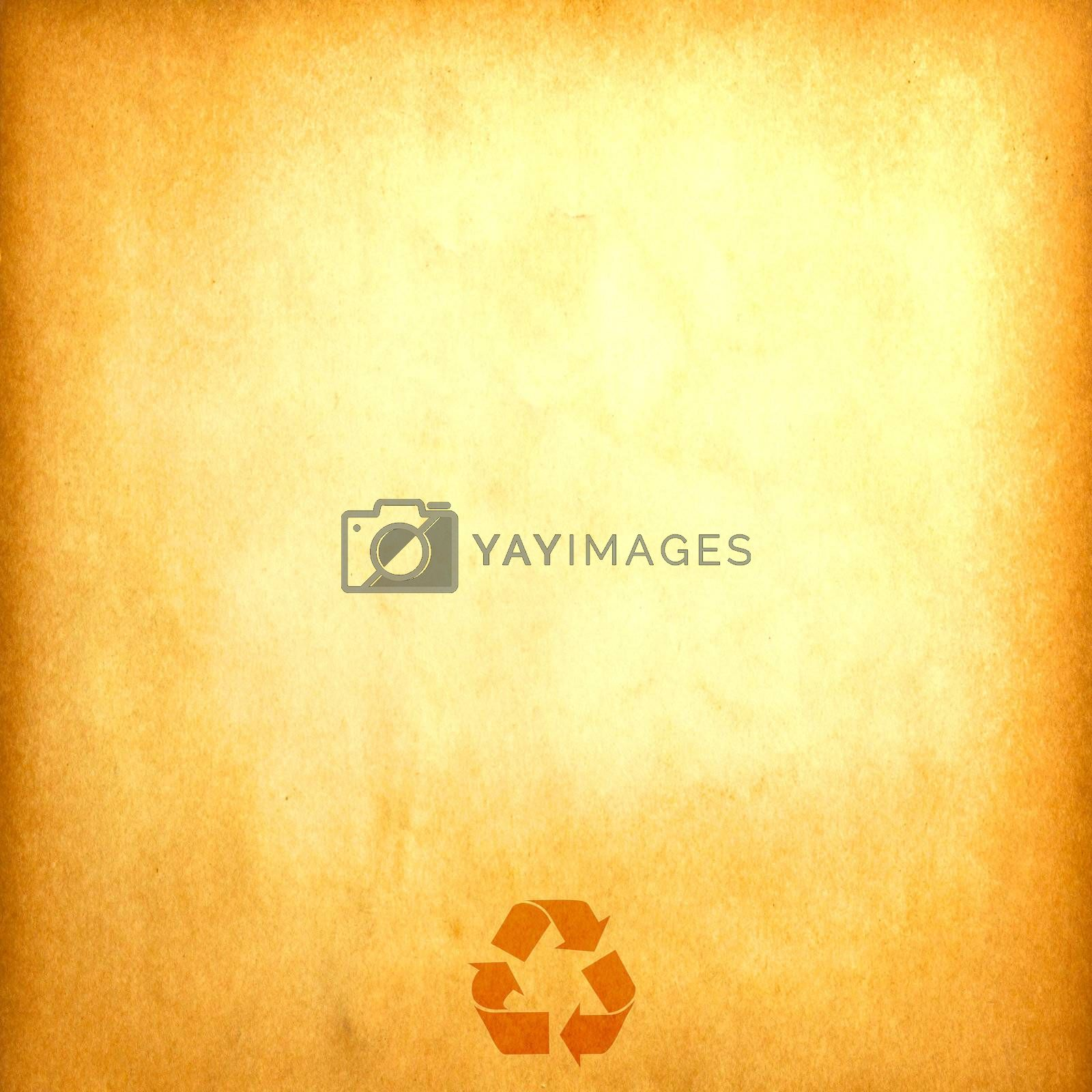 vintage recycled paper for background