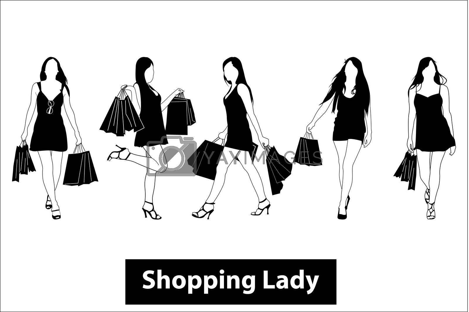 shopping lady by get4net