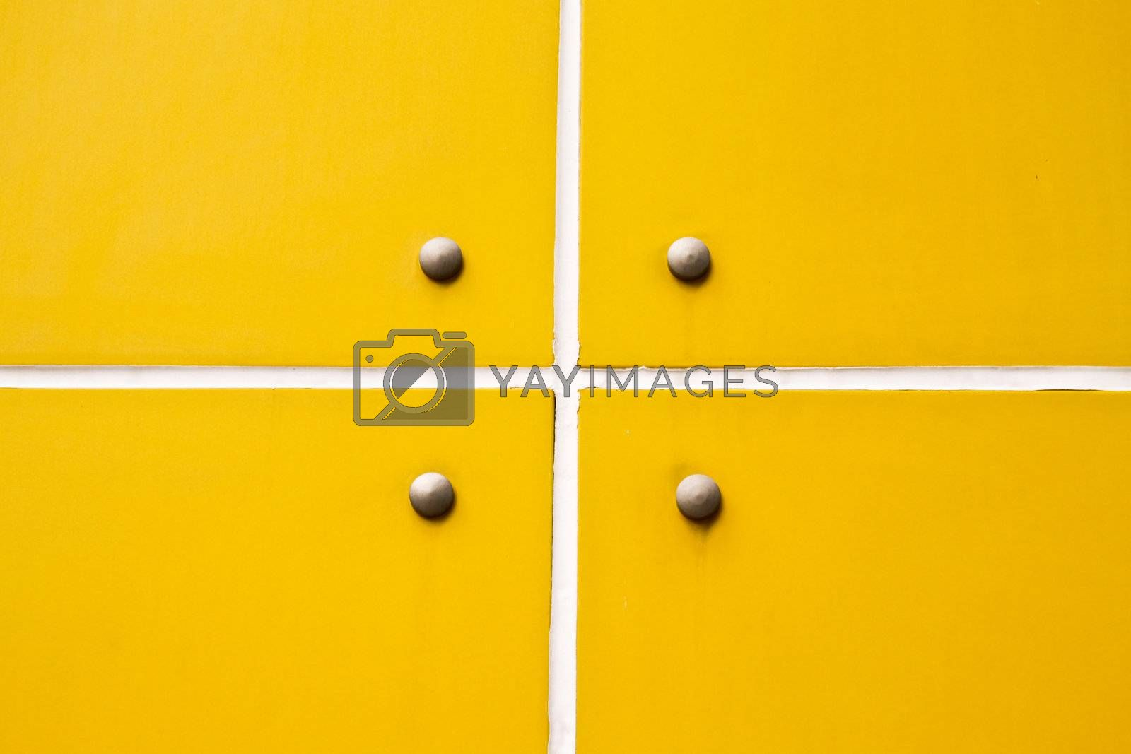 pattern of new yellow wall for background