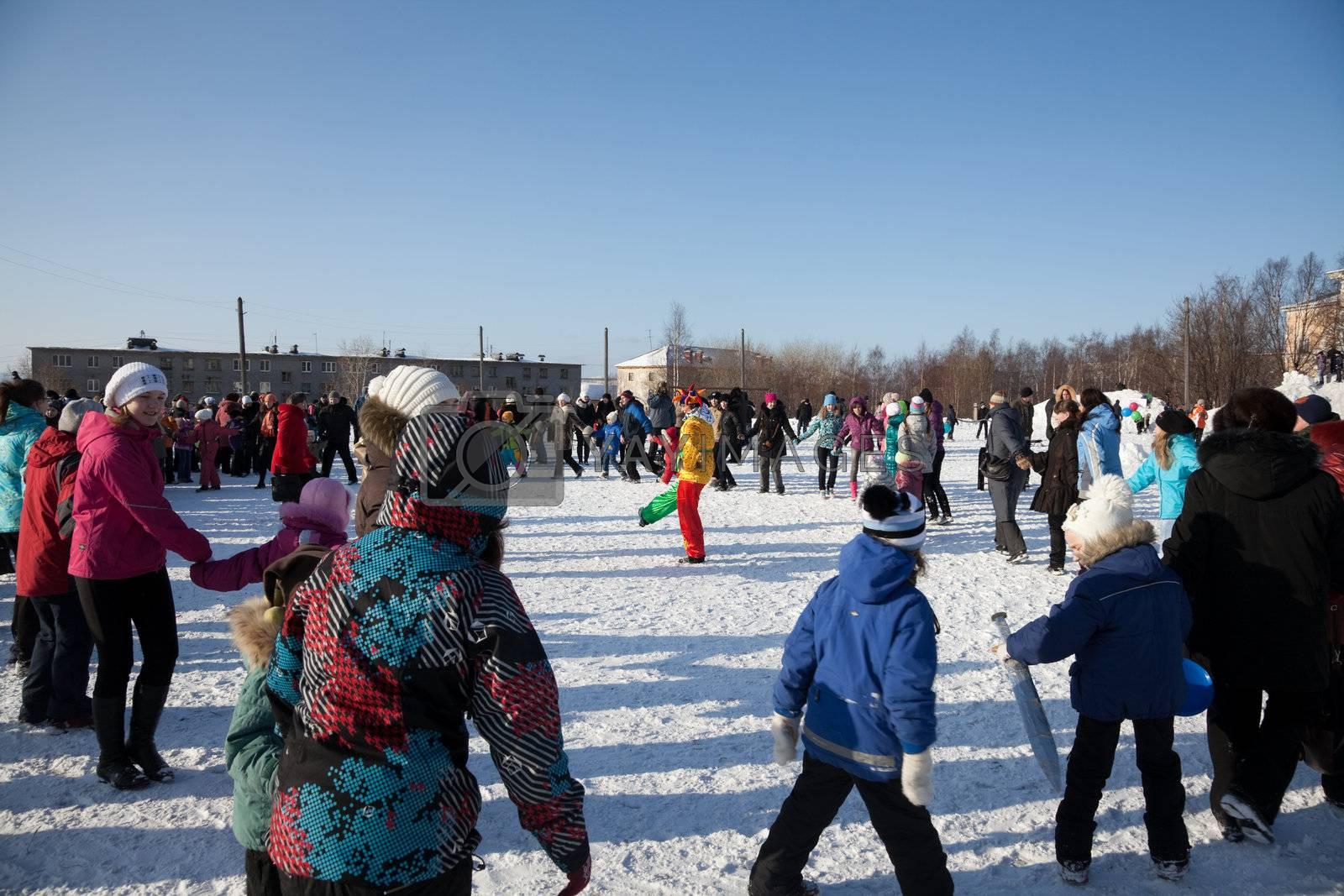 Festivities in Russia by AleksandrN