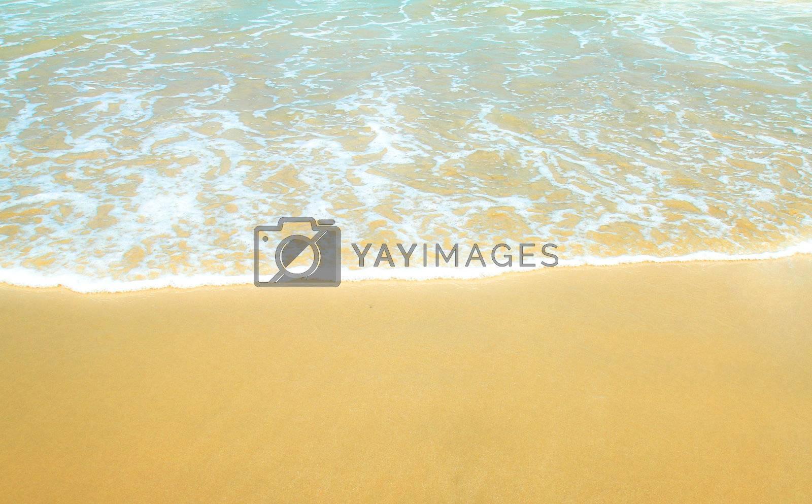 Beautiful sea beach in dreaming, thailand