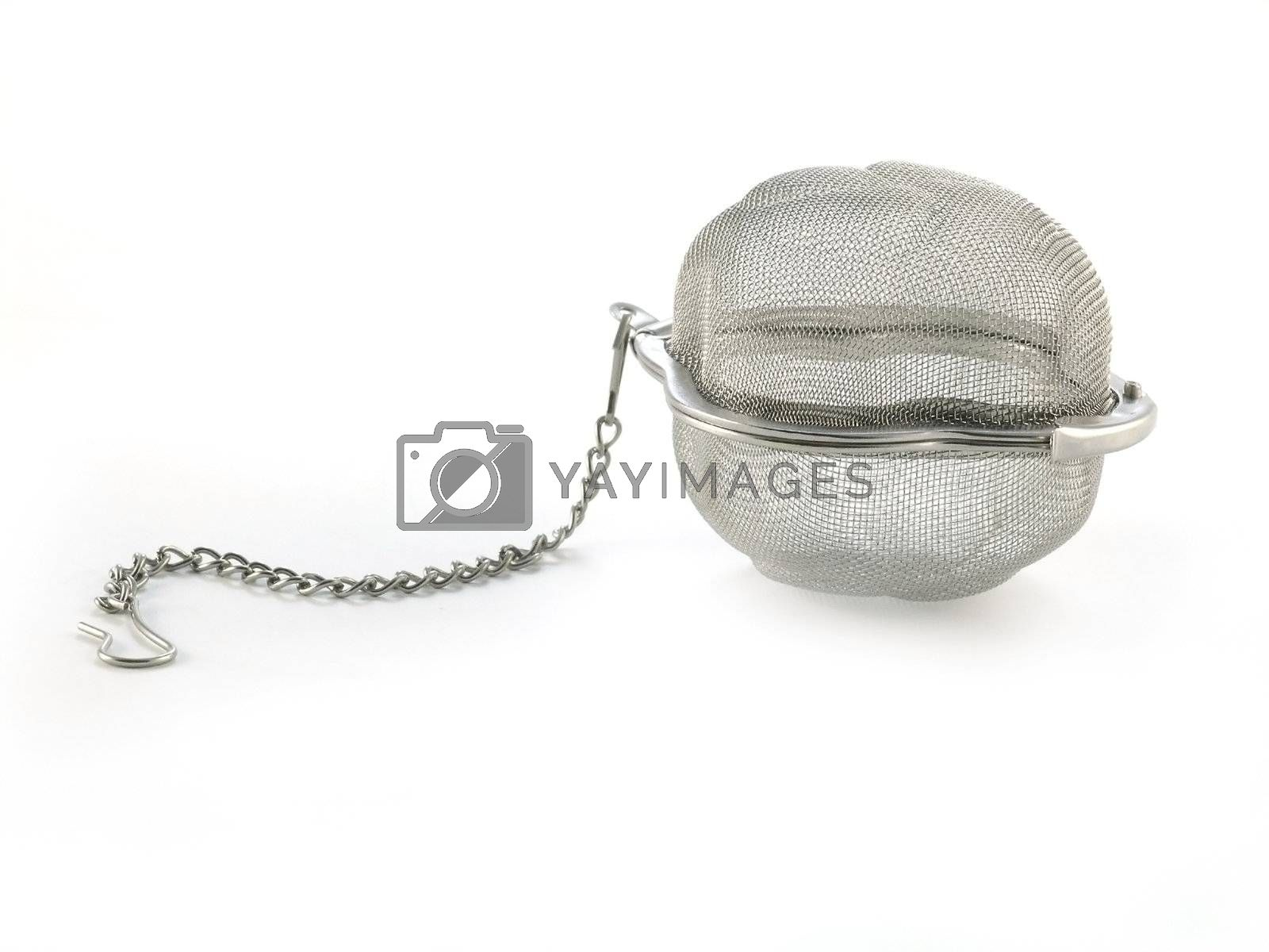 tea strainer  isolated on white background