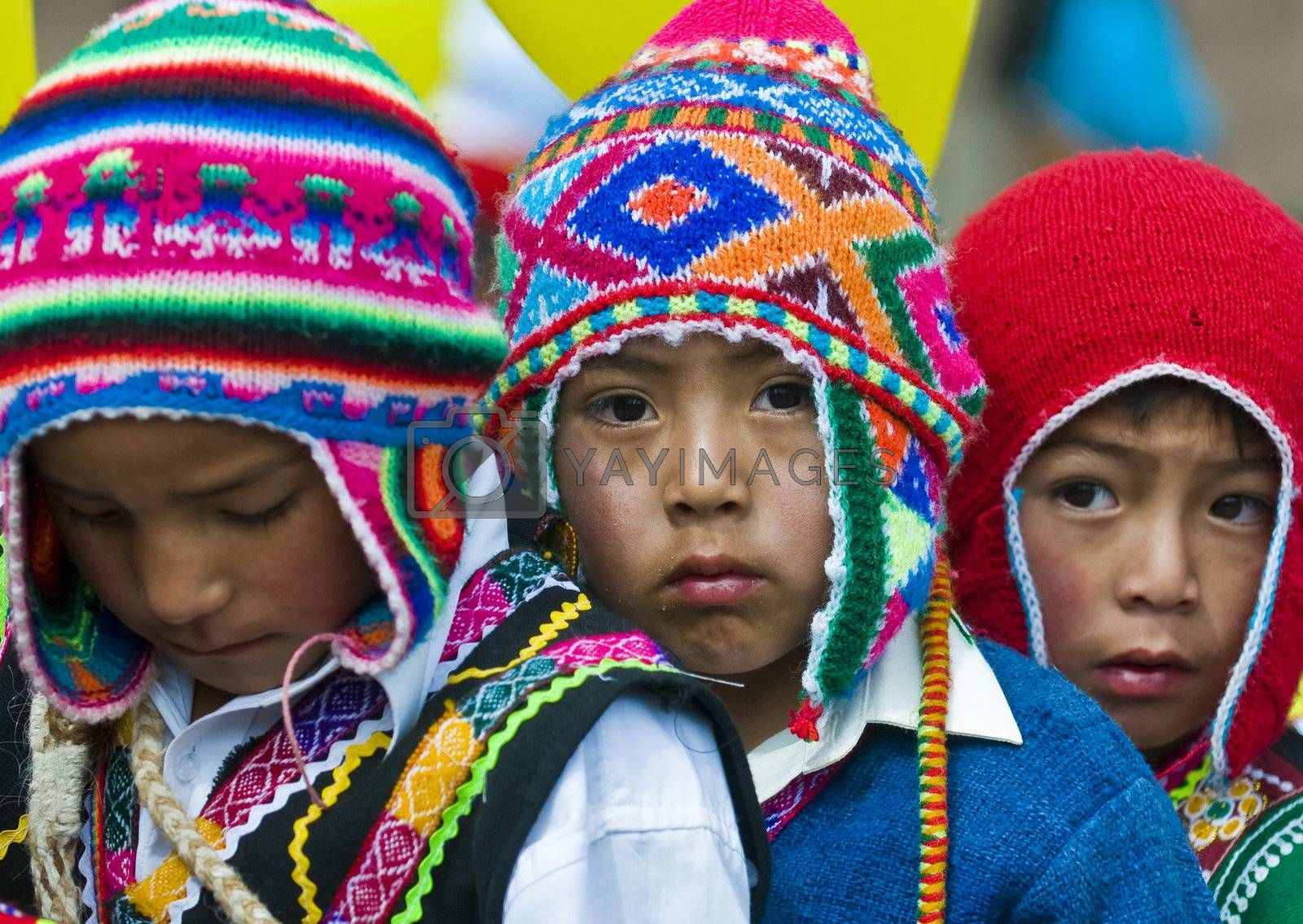 "Cusco , Peru - May 25 : participants in the ""public education day""  held in Cusco Peru on May 25 2011"
