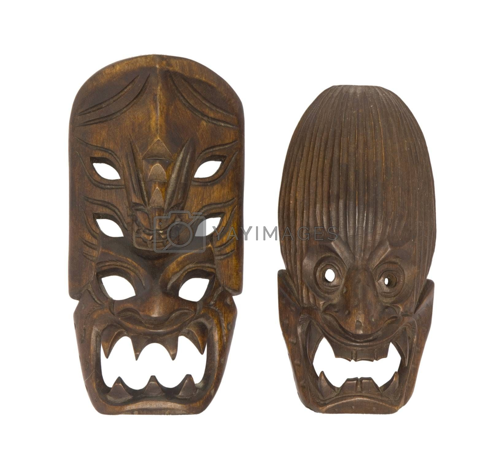 Small Traditional Ifugao Mask (Philippines) by huijzer
