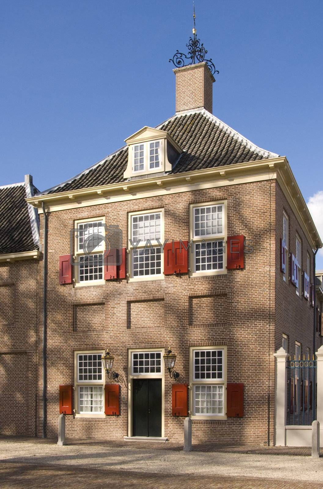 Building at Paleis Het Loo (Royal Palace in Apeldoorn, The Nethe by huijzer