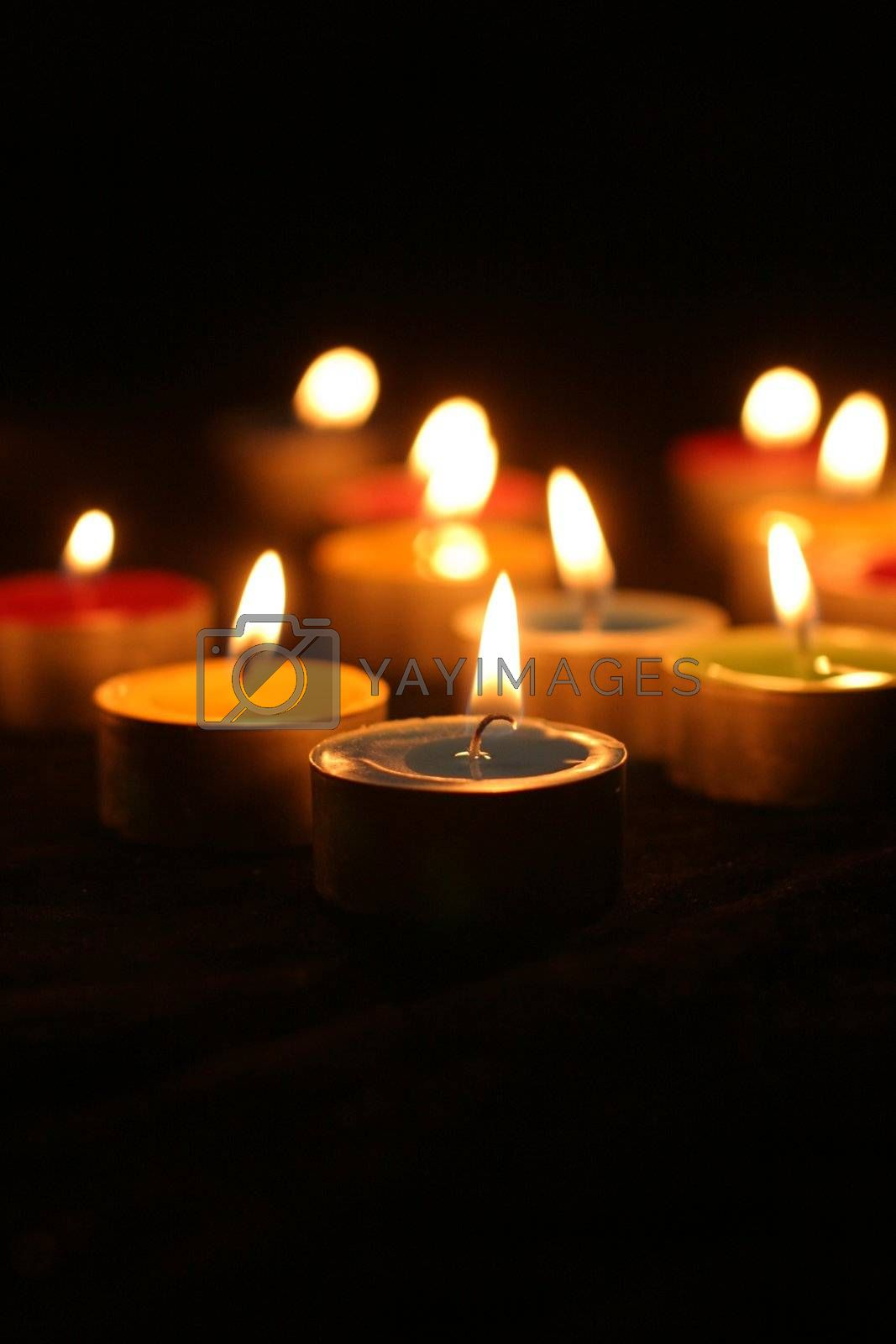 Royalty free image of Candles by yucas