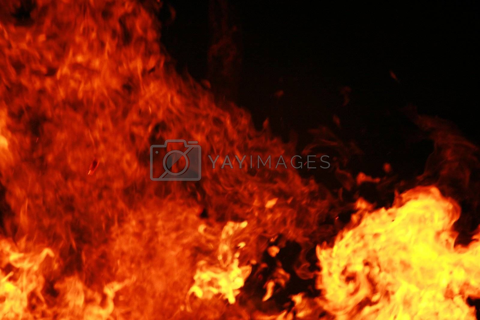 Royalty free image of Big Fire by yucas