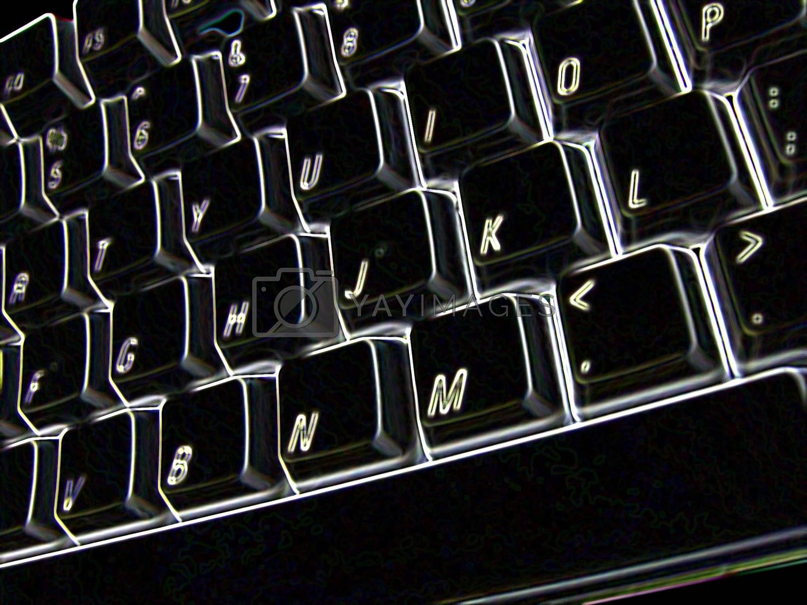 Solarized keyboard.