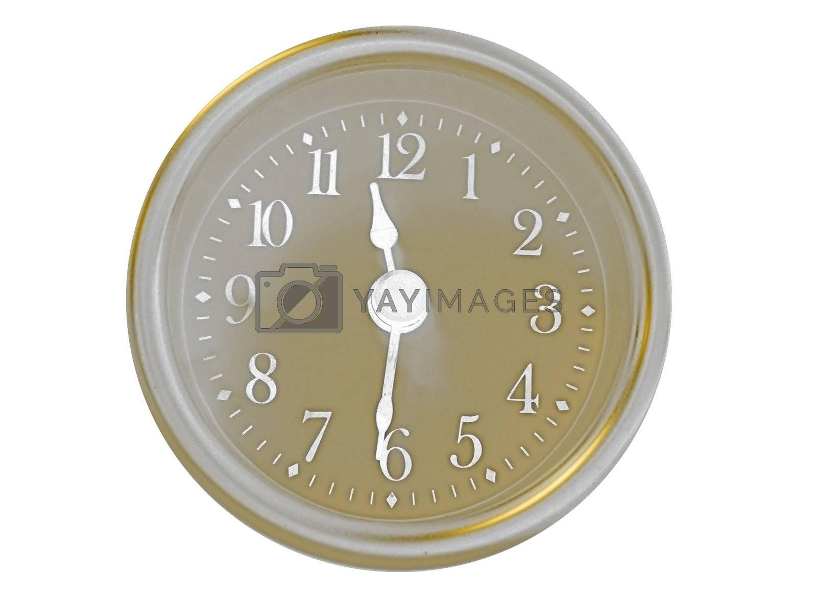 High Contrast Clock