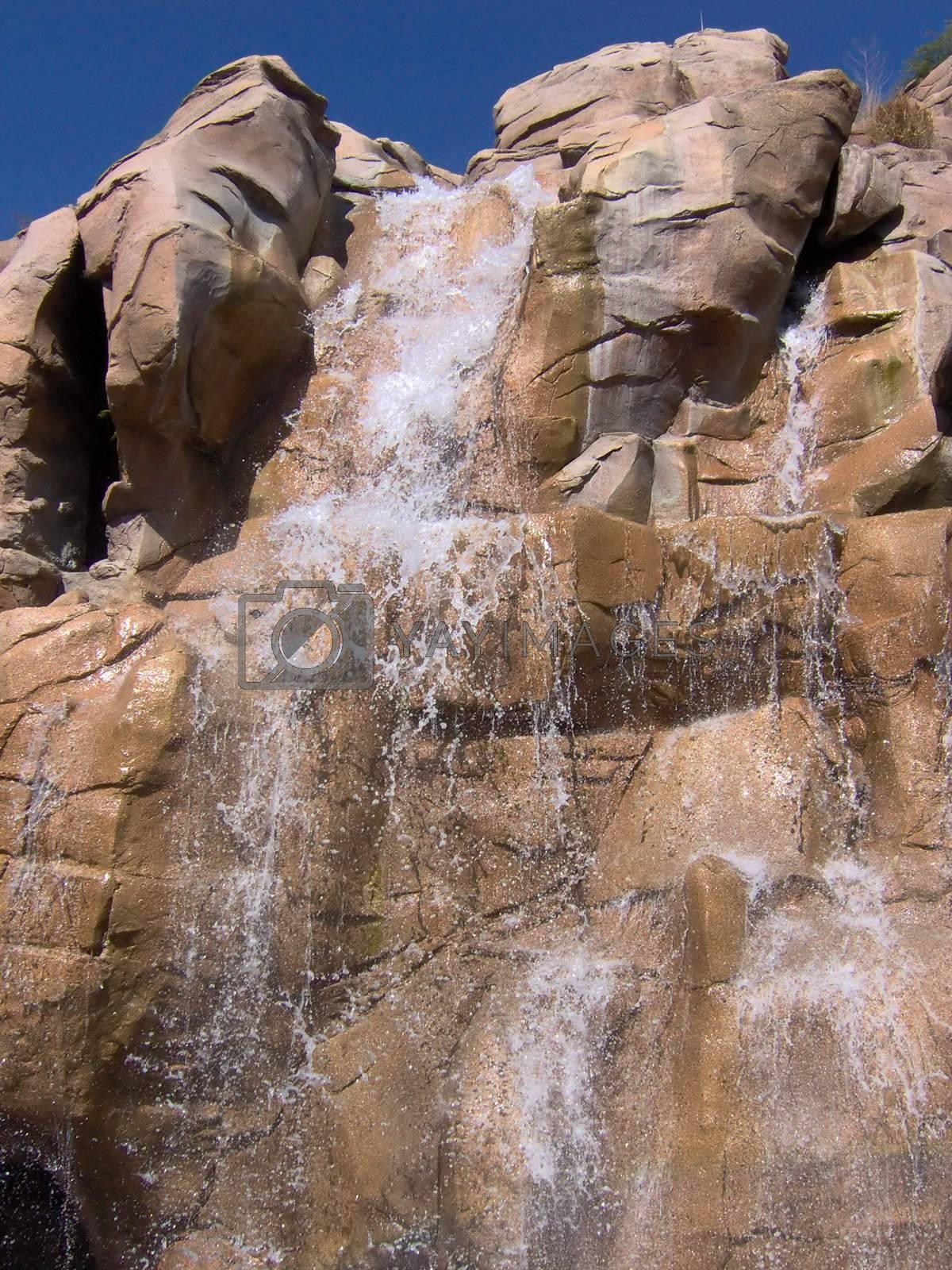 A nice waterfall.