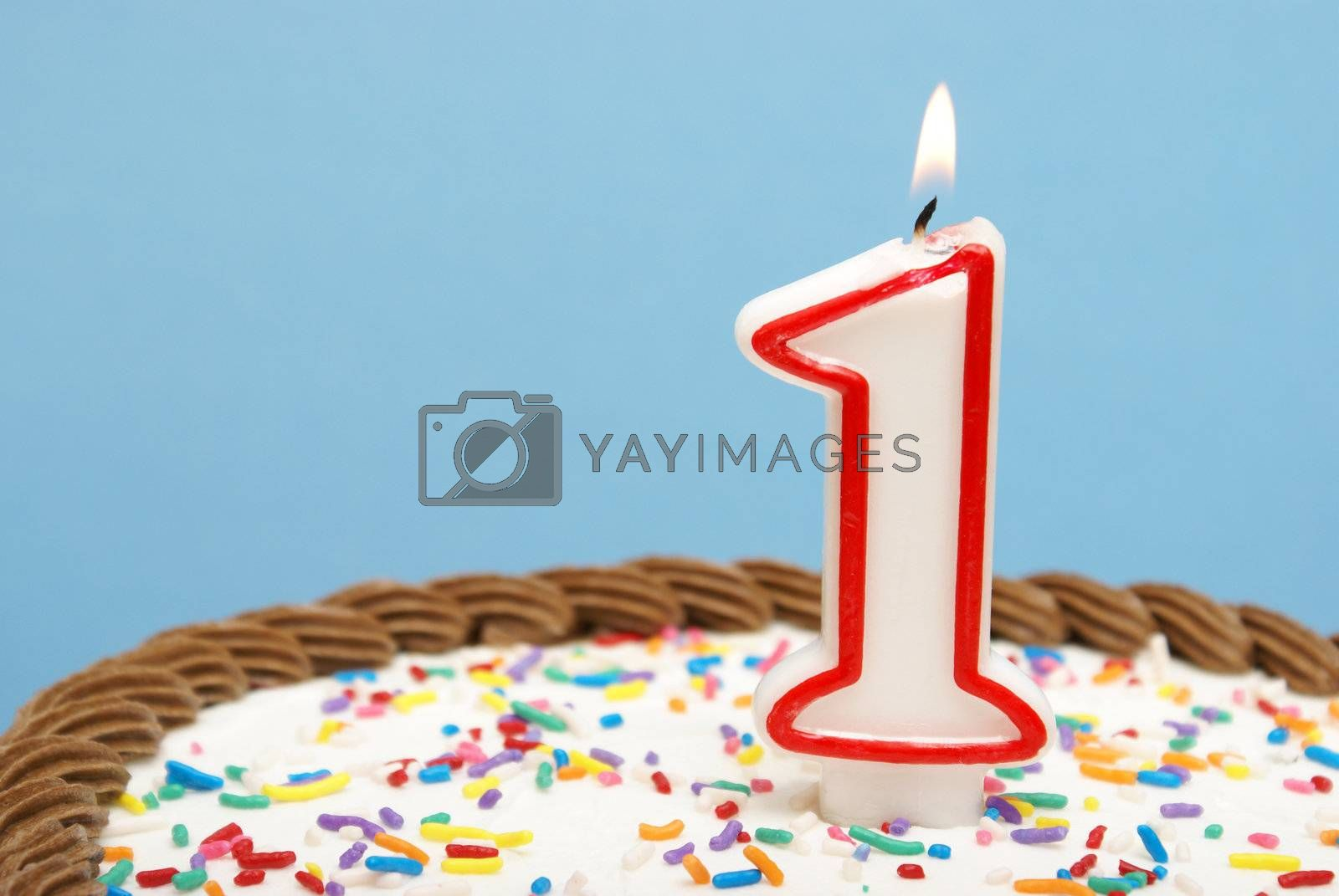 A celebration of the first year either for a birthday, business or other event.