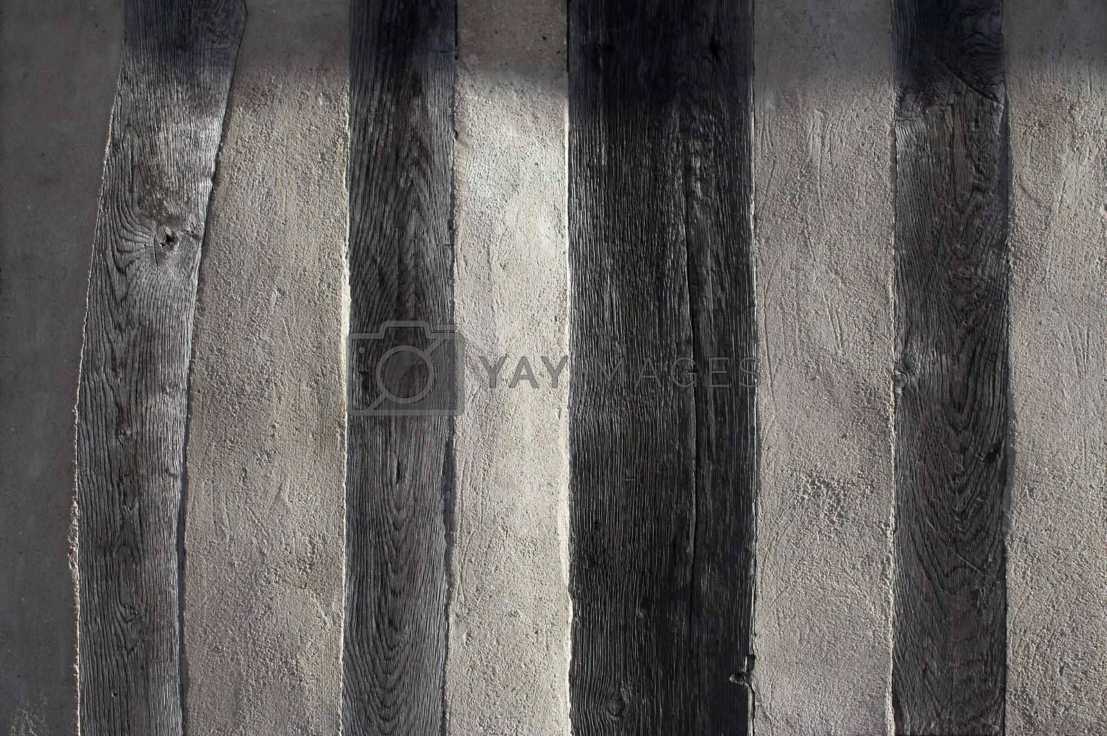 Texture - half-timbered house wall by MikLav