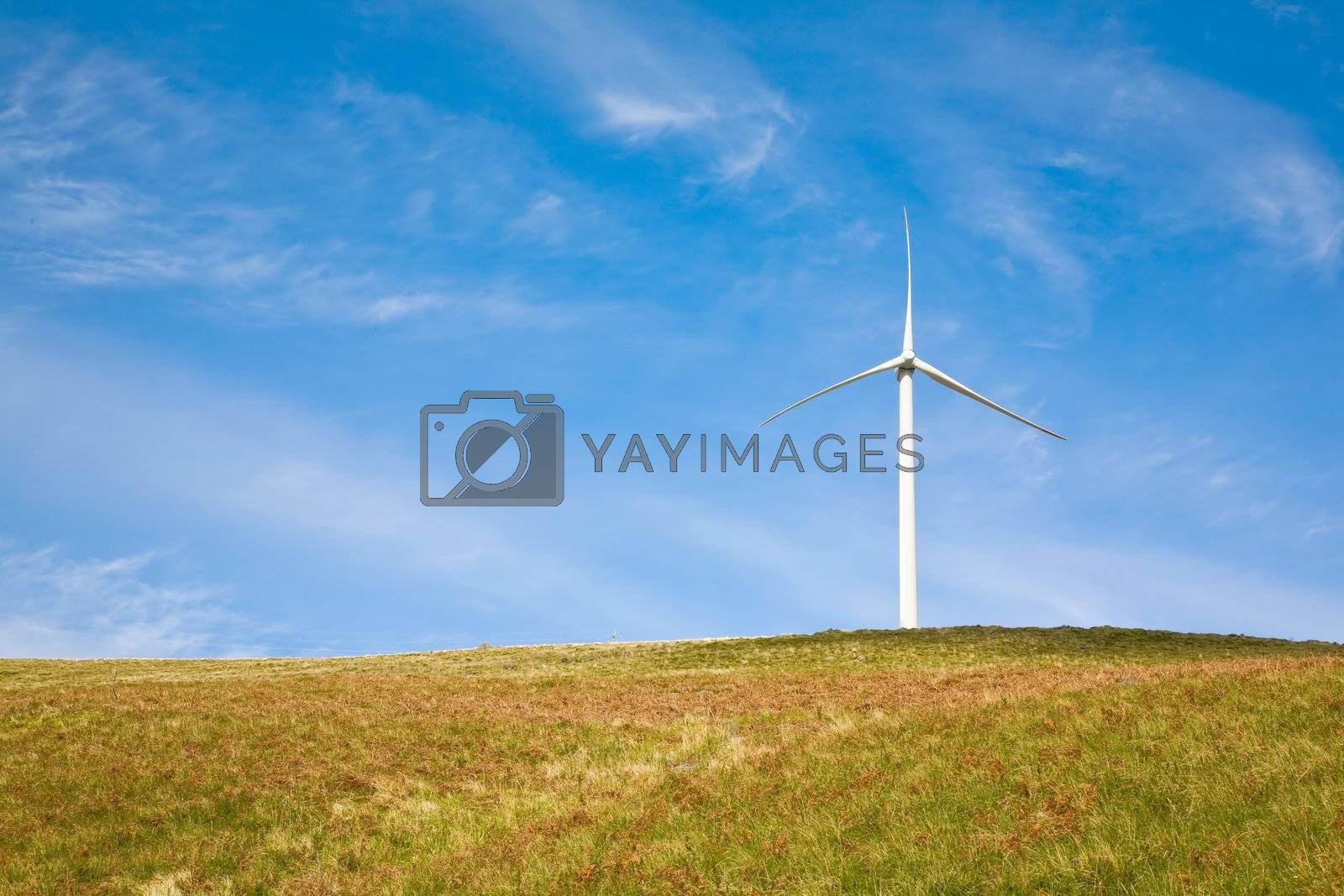 Royalty free image of Wind Tower by ajn