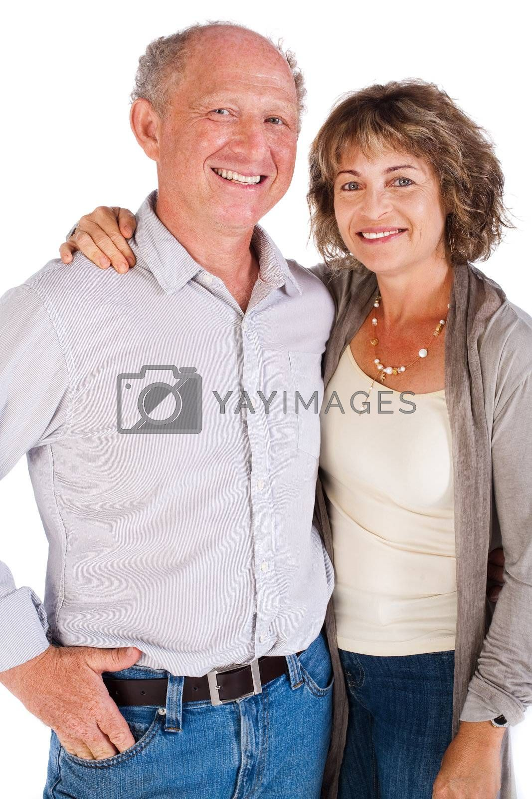Beautiful elderly couple by get4net