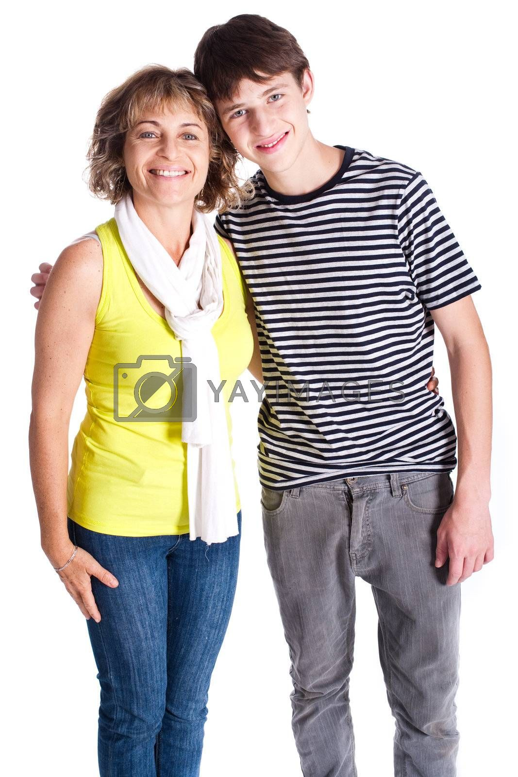 Grandmother with young grandson by get4net