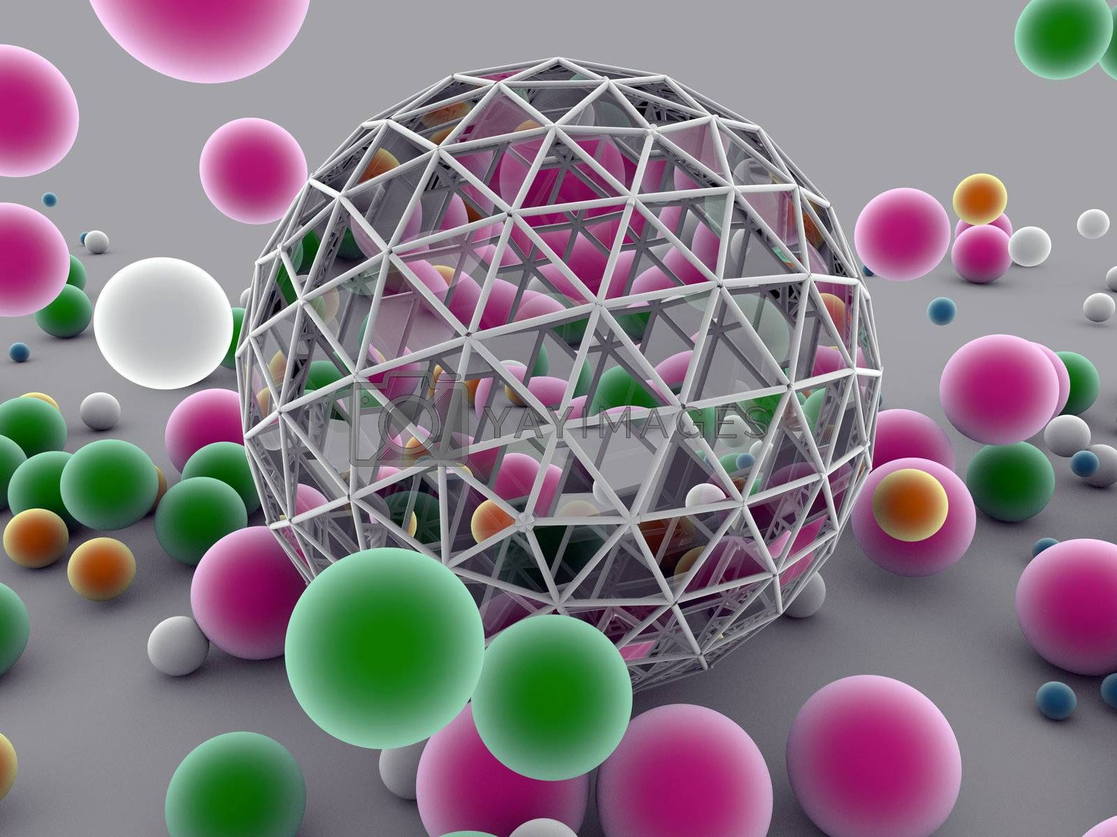 bouncing balls  by lamianuovasupermail@gmail.com