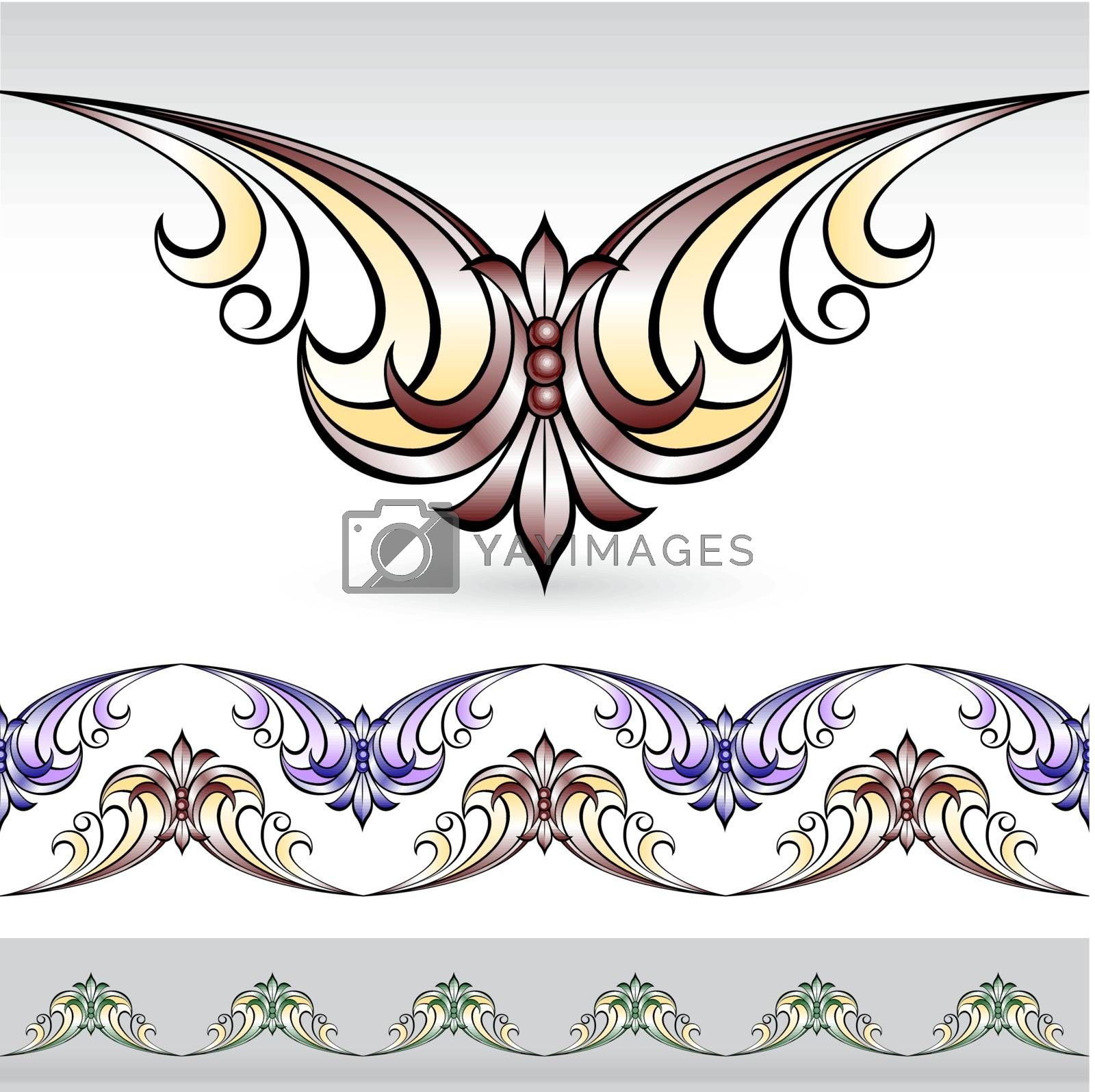 Flora design number eight. Nice design elements for your best creative ideas.