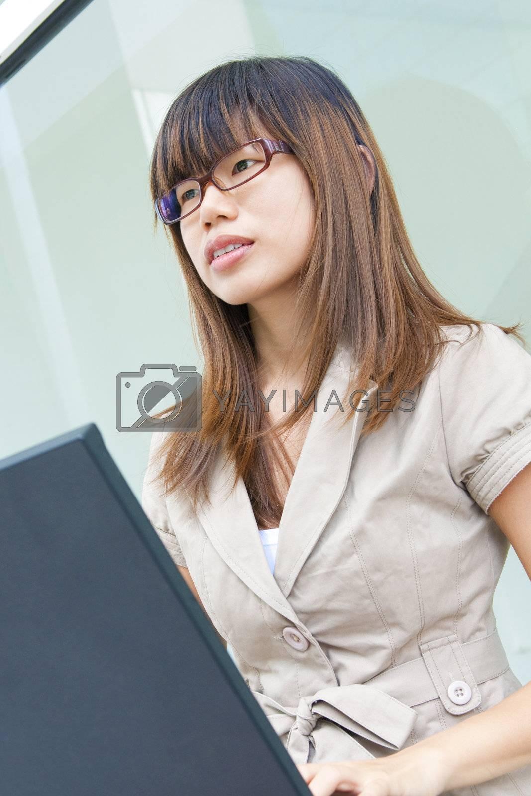 Education / Business woman by szefei