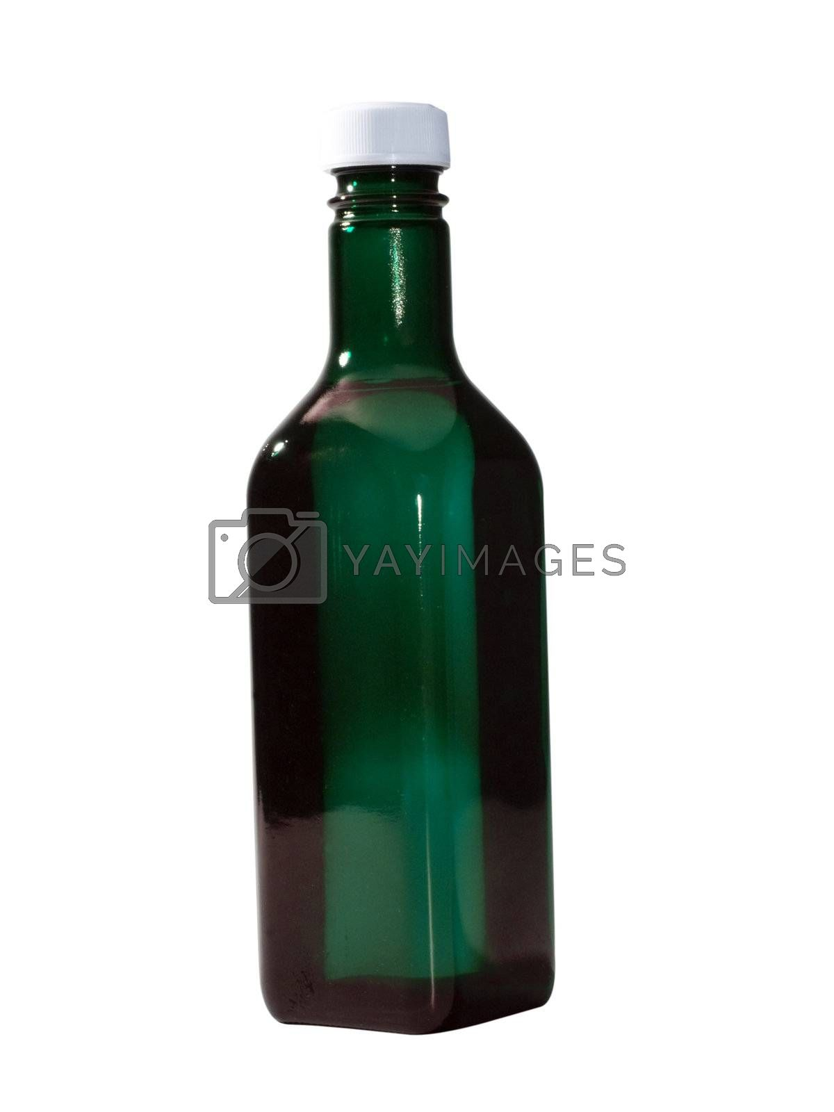 Bottle Isolated by travismanley