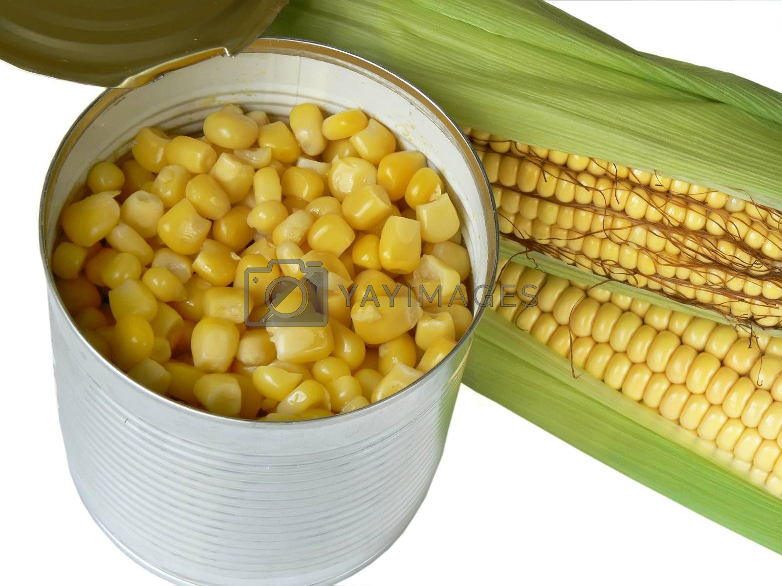zea mays natural and can