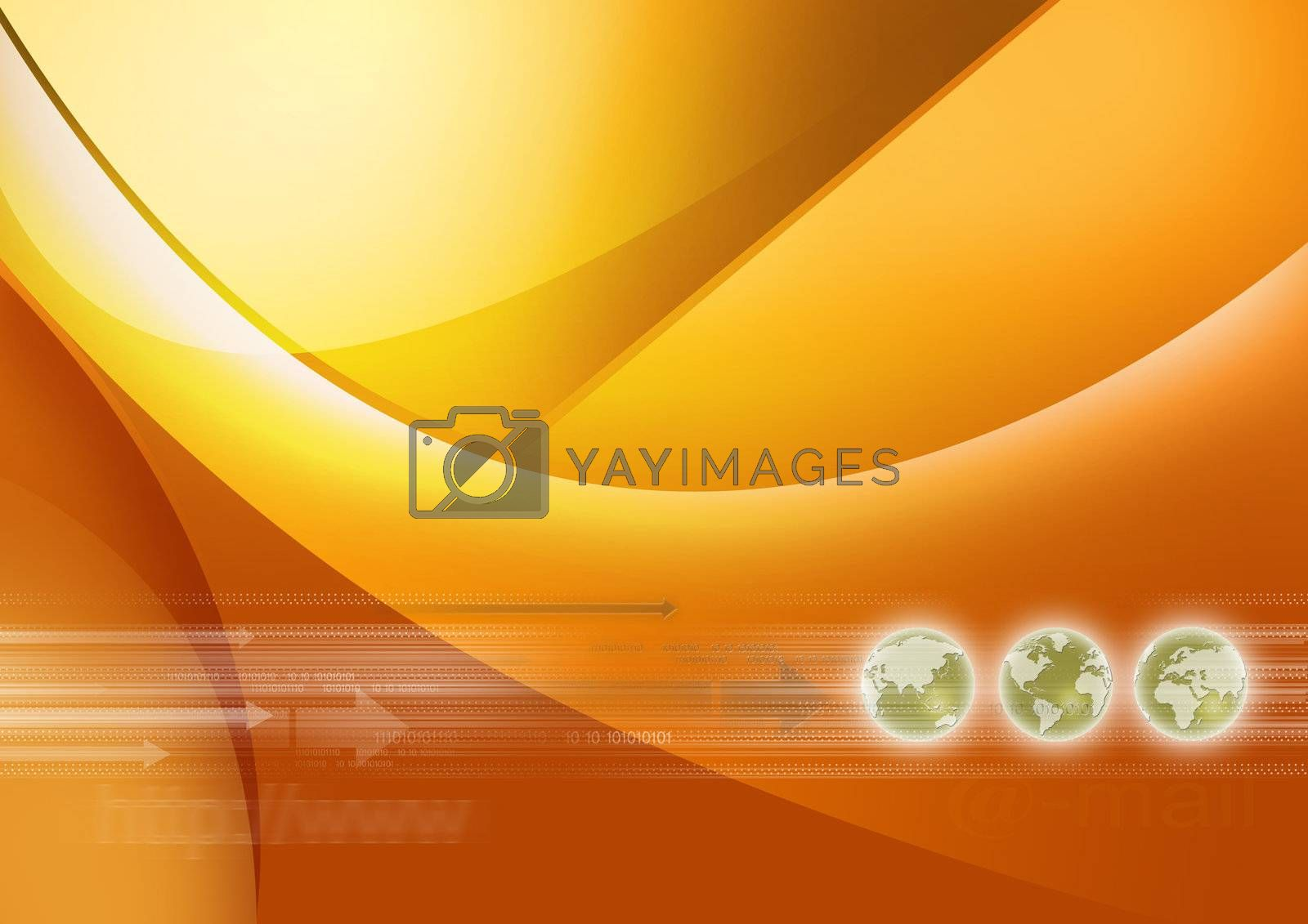 Background can use the Internet, print advertising and design