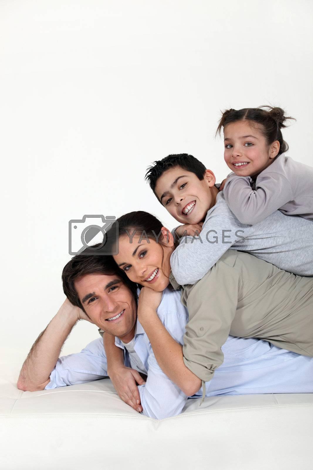 a family pyramid by phovoir