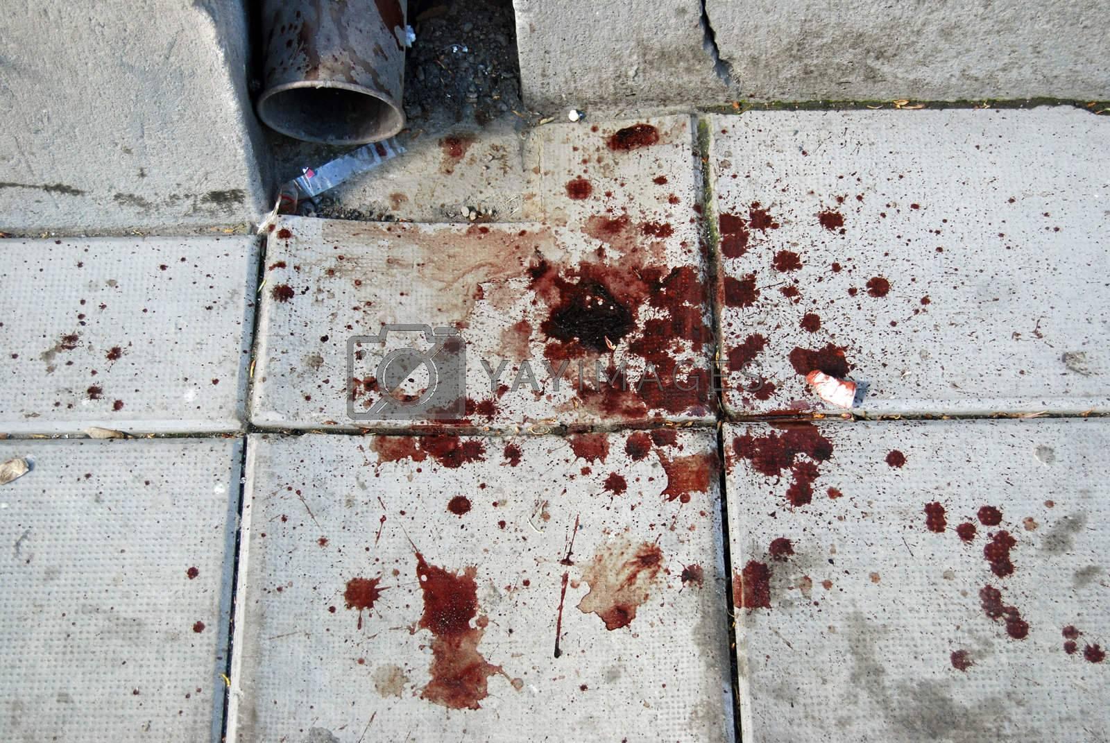 Destructive street violence